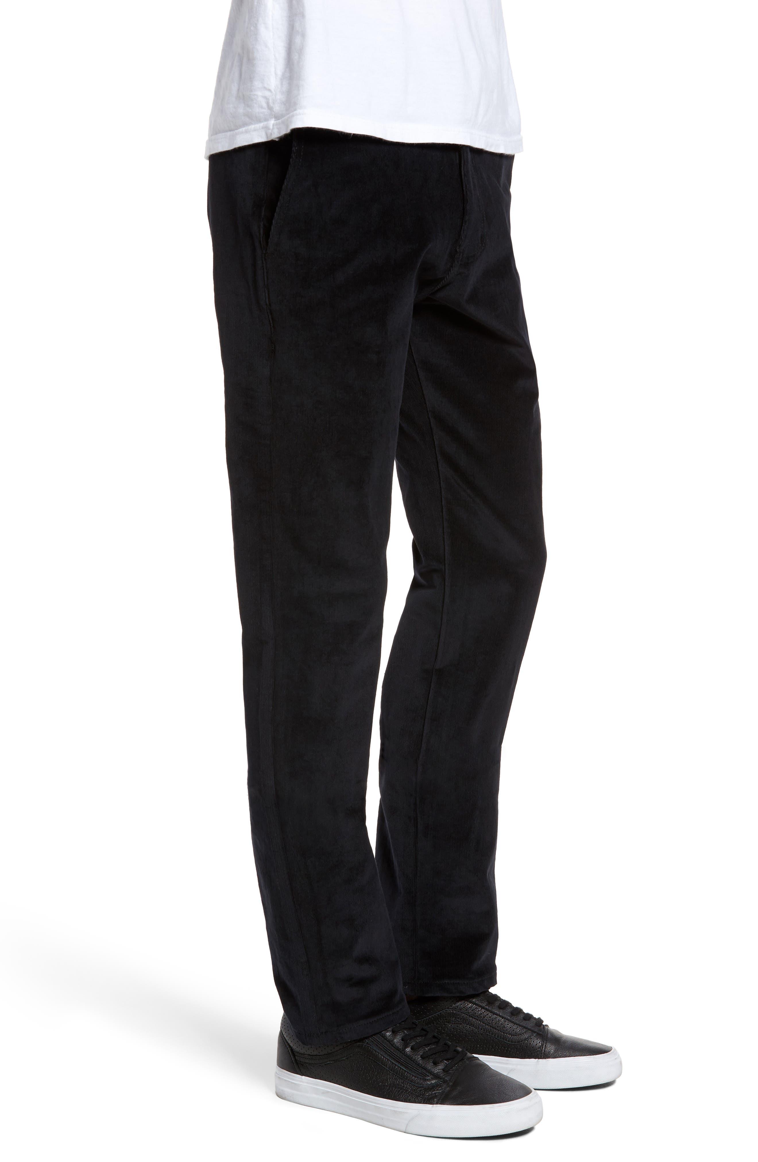 Naked & Famous Slim Chino Slim Fit Corduroy Pants,                             Alternate thumbnail 3, color,