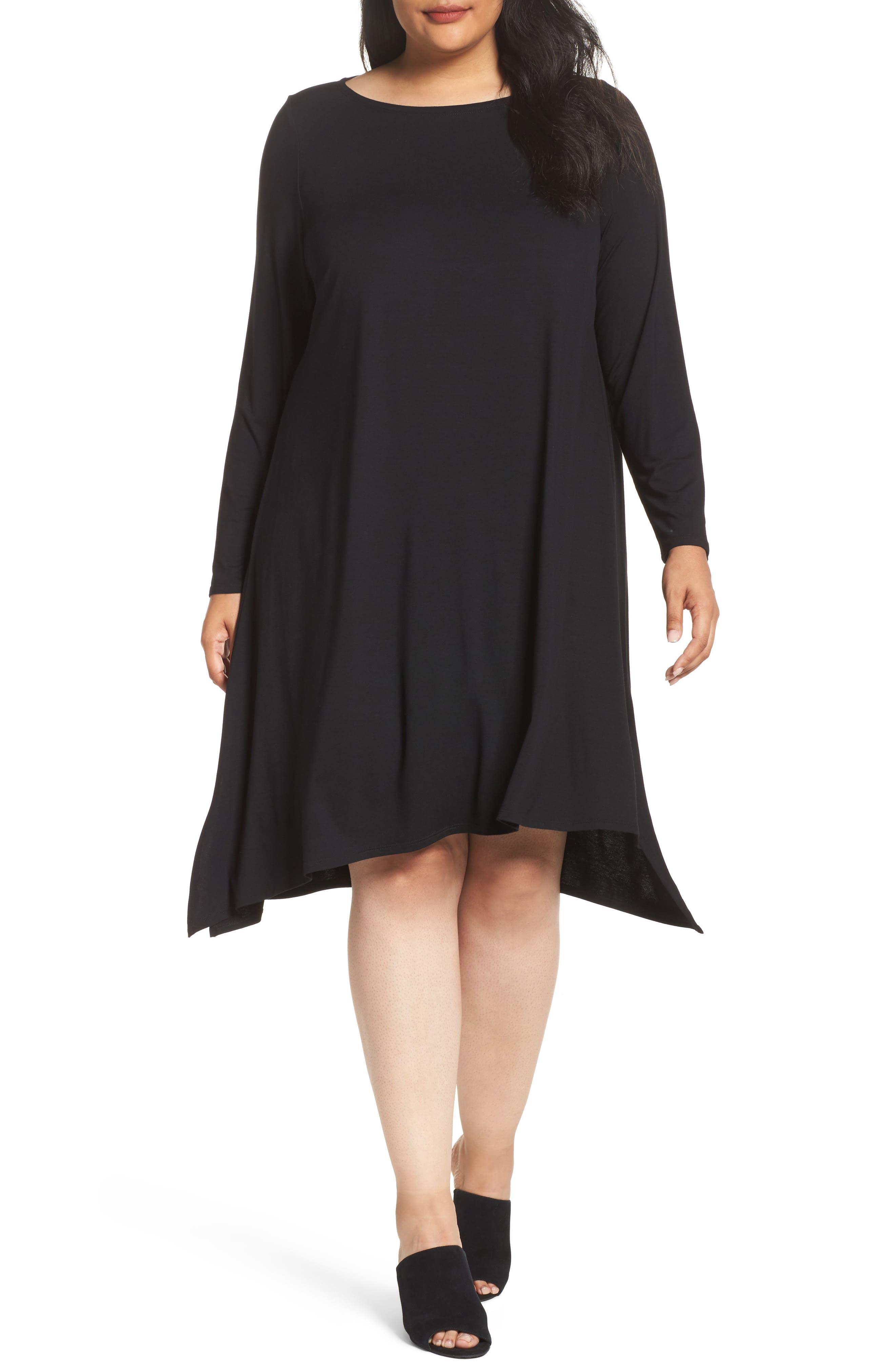 Jersey Tunic Dress,                             Main thumbnail 1, color,