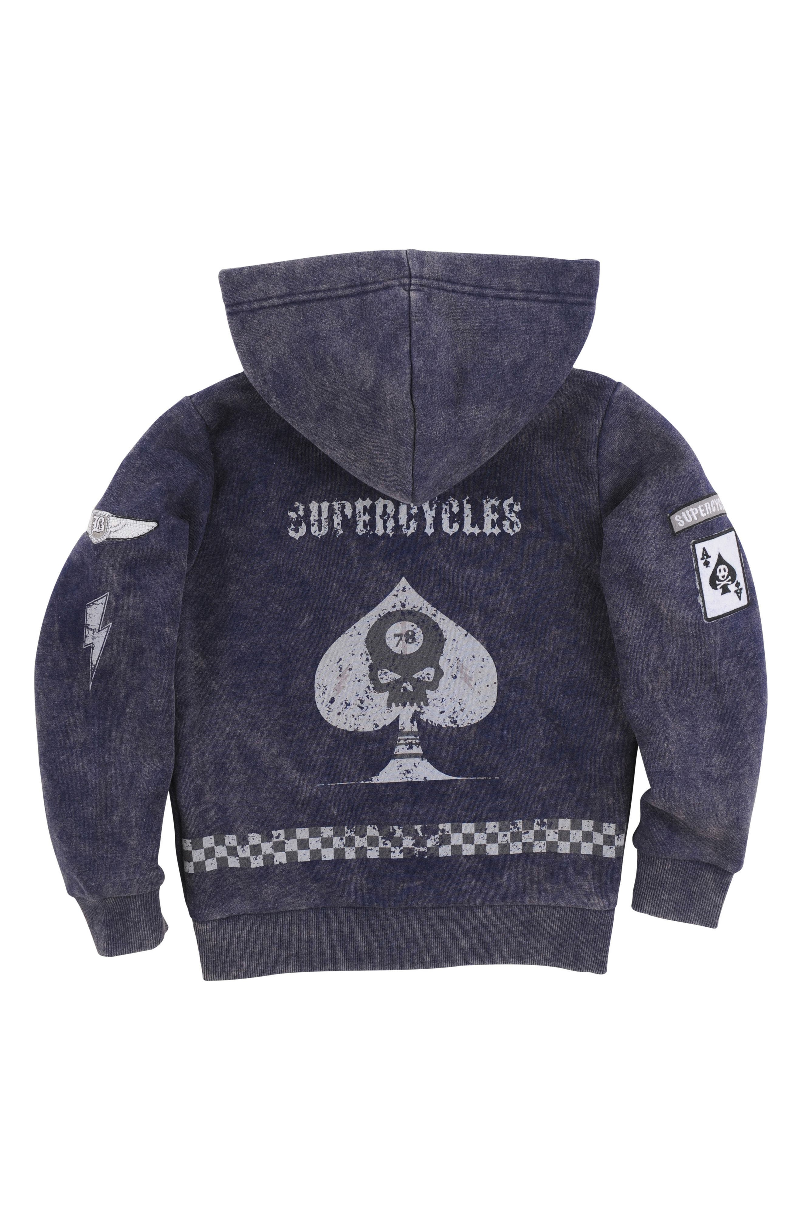Graphic Zip Hoodie,                             Main thumbnail 1, color,                             401