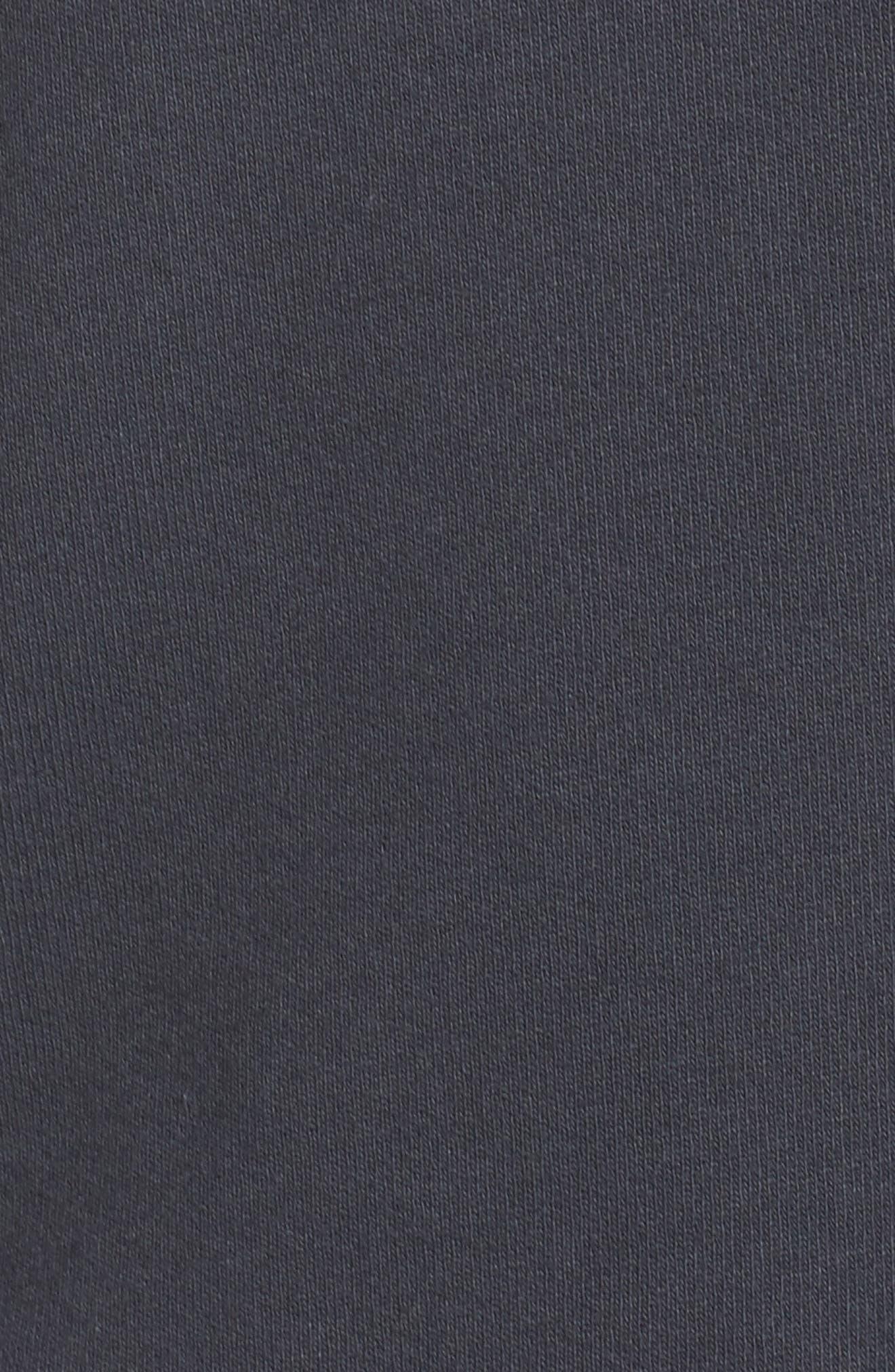 Peak Cutout Long Sleeve Pullover Crop Hoodie,                             Alternate thumbnail 15, color,