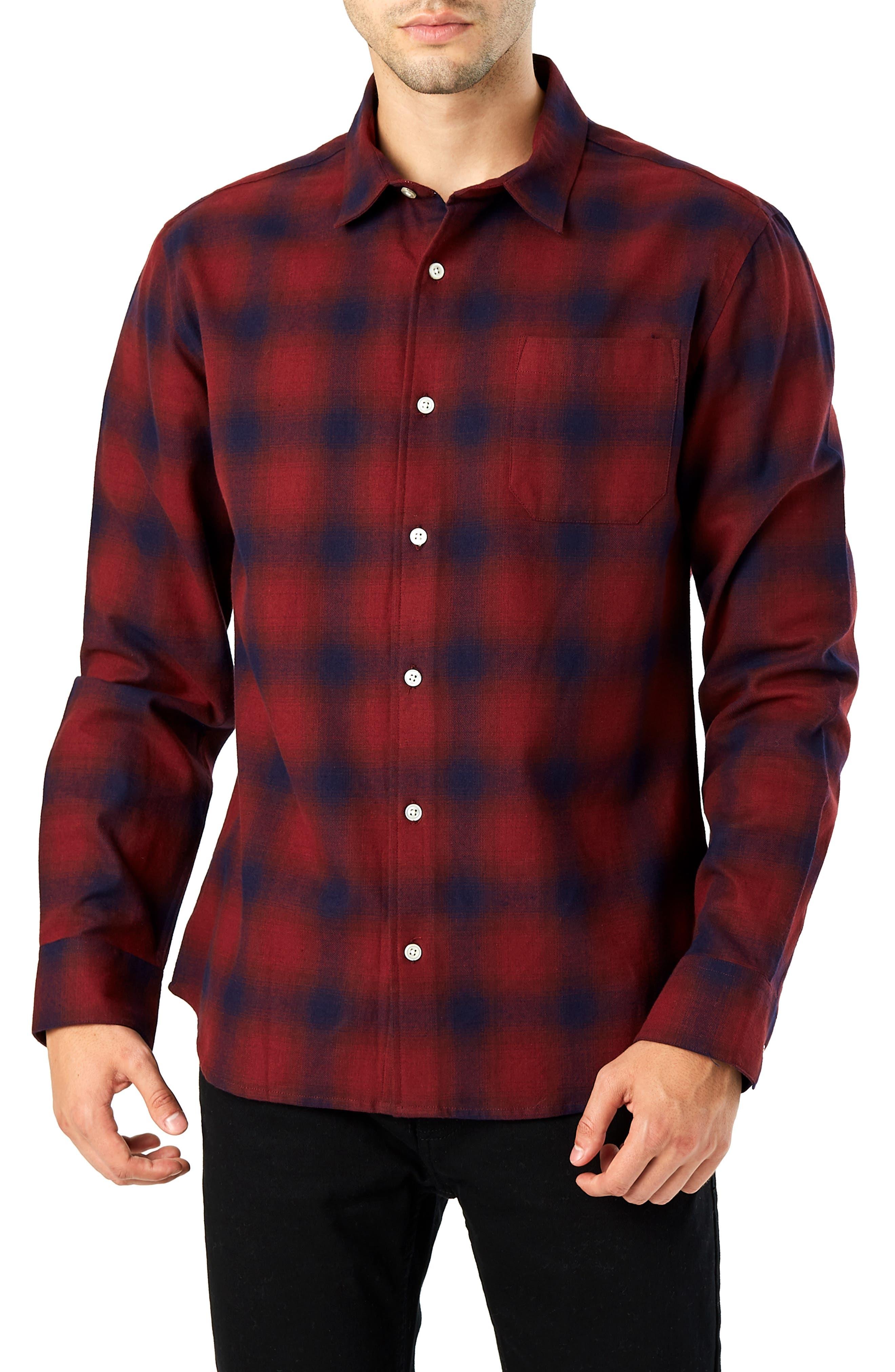 Flint Trim Fit Sport Shirt, Main, color, 930