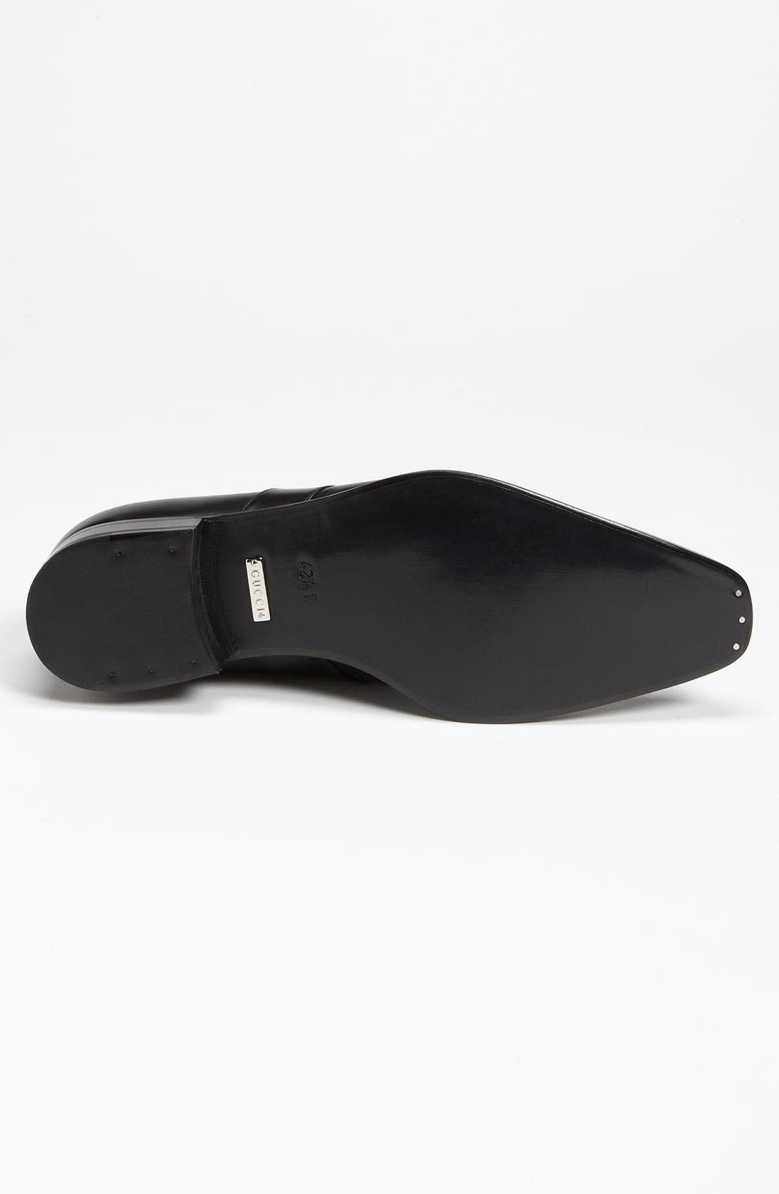 GUCCI,                             'Double G' Loafer,                             Alternate thumbnail 6, color,                             005