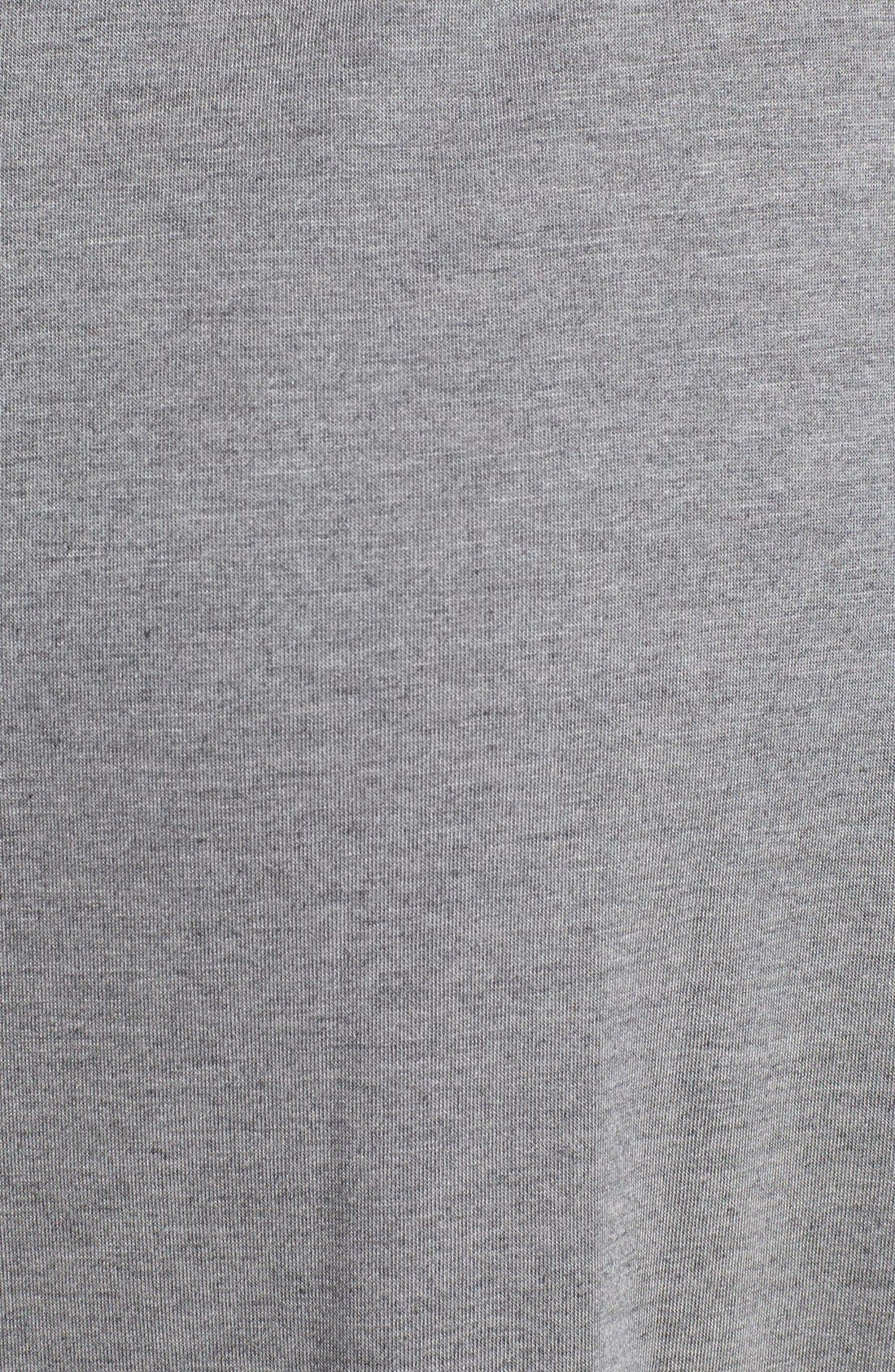 'Shangri La' Nightgown,                             Alternate thumbnail 2, color,                             HEATHER GREY