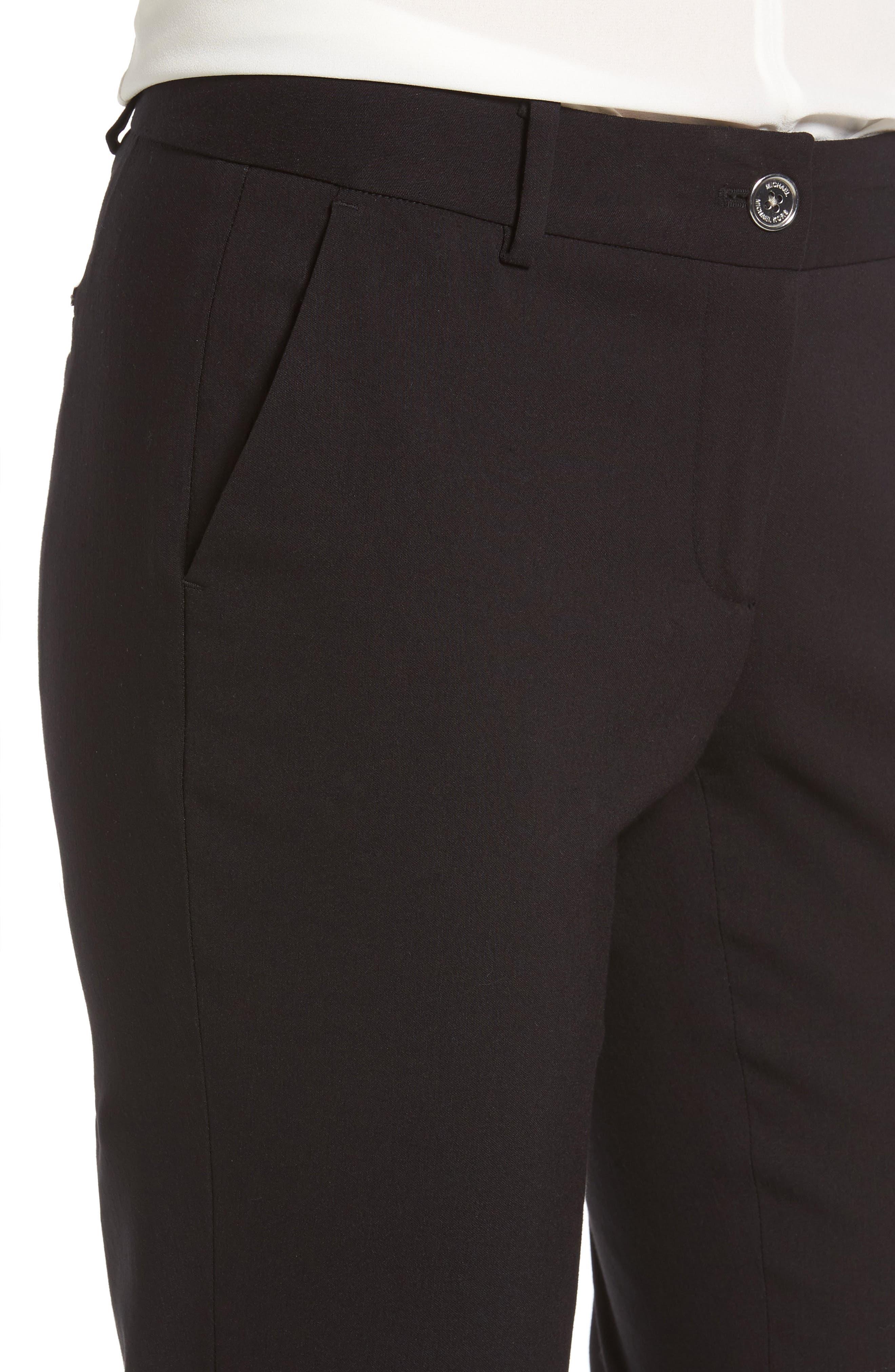 Miranda Slim Ankle Pants,                             Alternate thumbnail 4, color,                             001