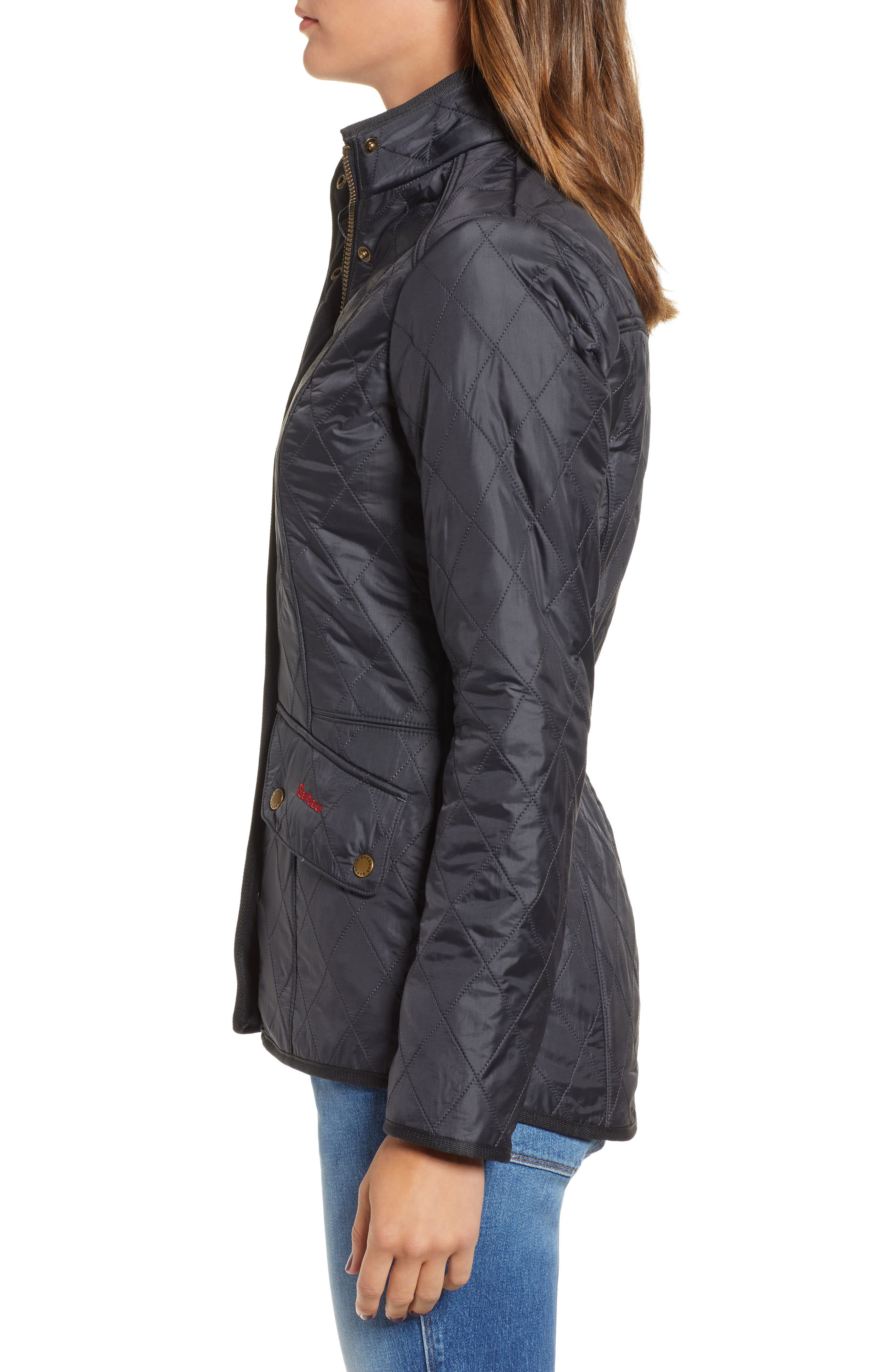 'Cavalry' Quilted Jacket,                             Alternate thumbnail 40, color,