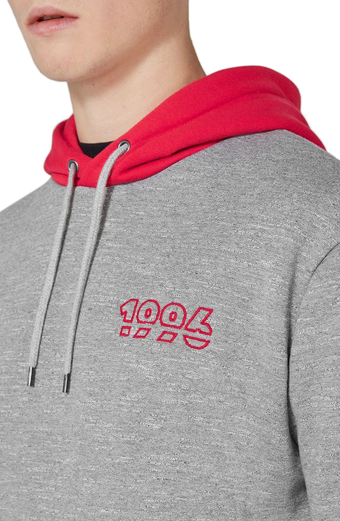 1996 Contrast Hoodie,                             Alternate thumbnail 3, color,                             020