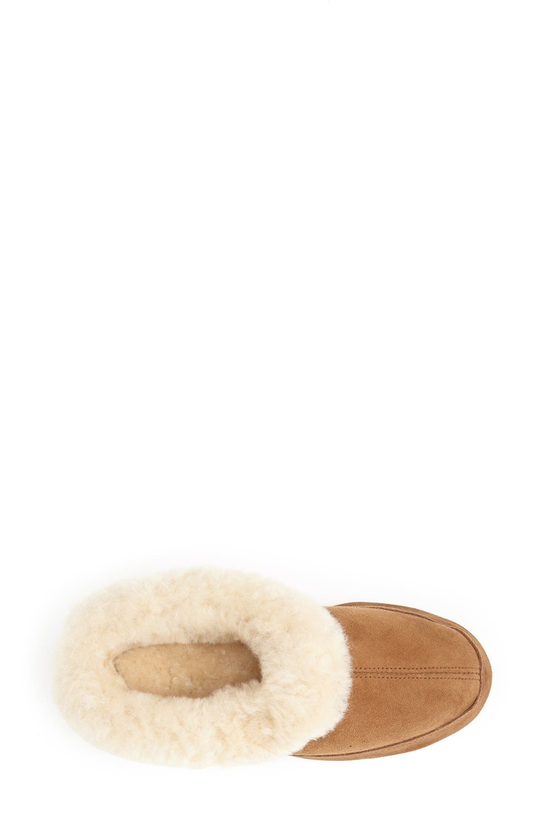 'Oh Ewe II' Genuine Sheepskin Slipper,                             Alternate thumbnail 14, color,