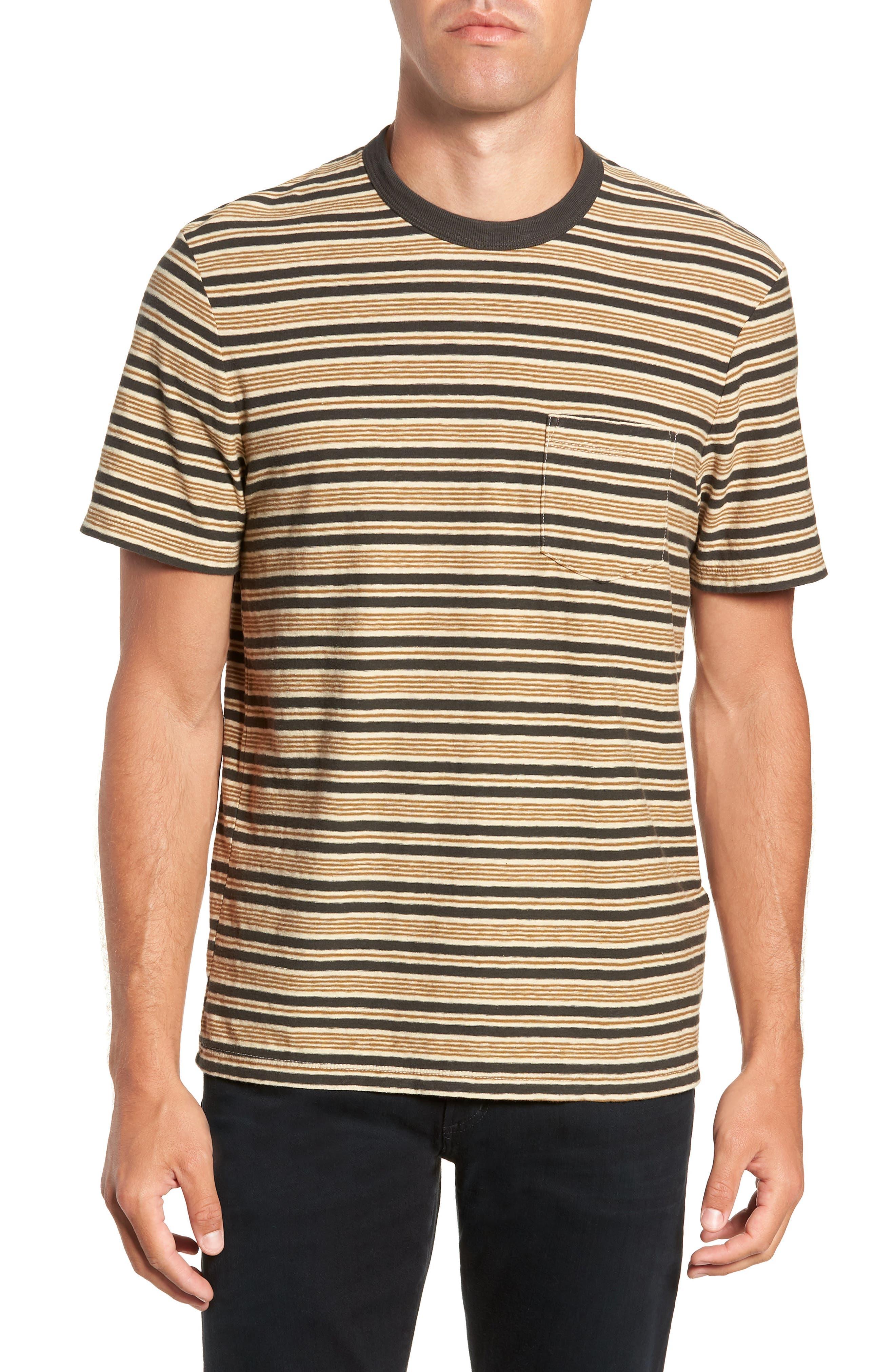 Vintage Stripe Regular Fit Pocket T-Shirt,                             Main thumbnail 1, color,                             300