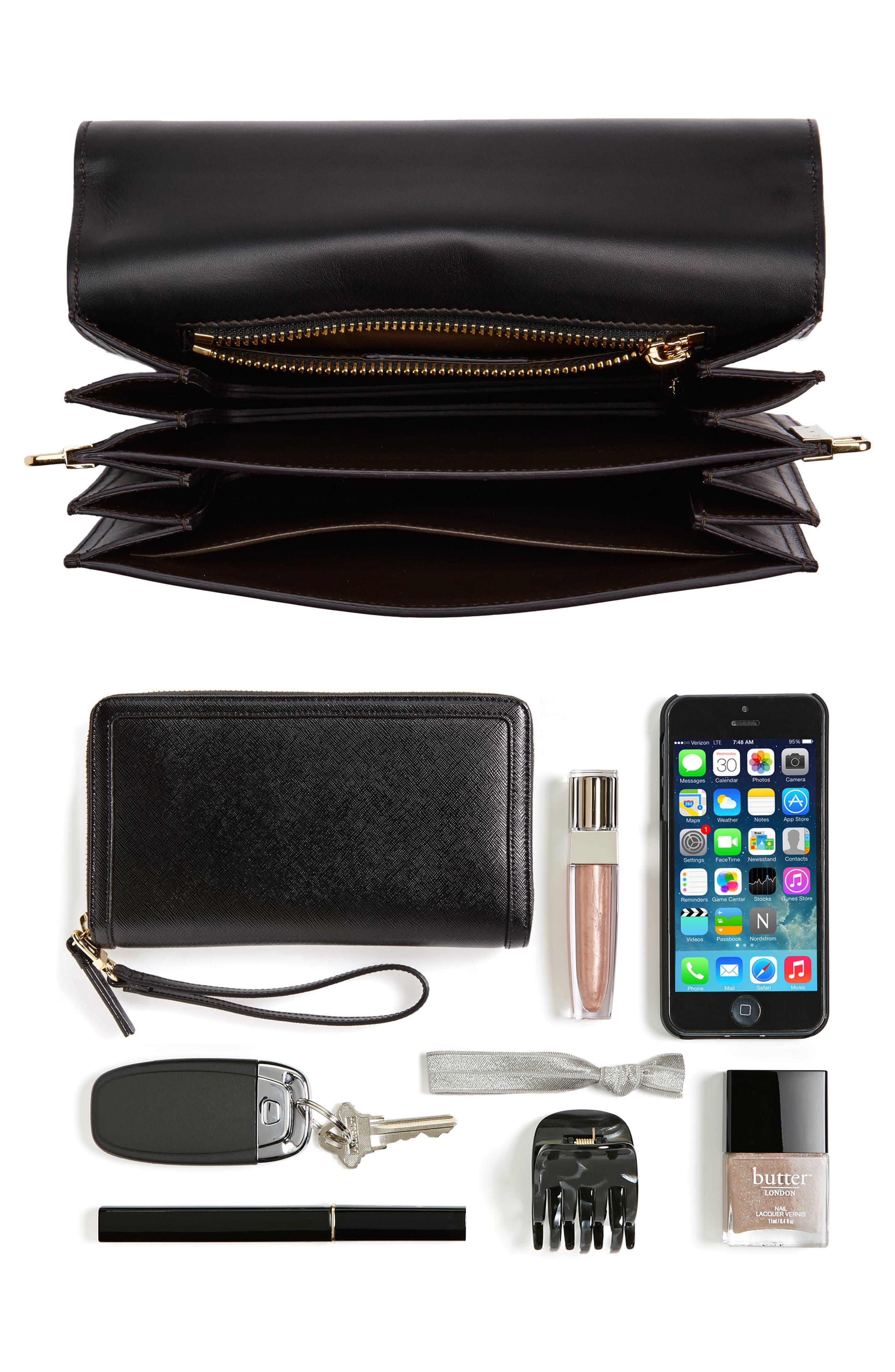 Vittoria Genuine Snakeskin & Leather Crossbody Bag,                             Alternate thumbnail 2, color,                             972