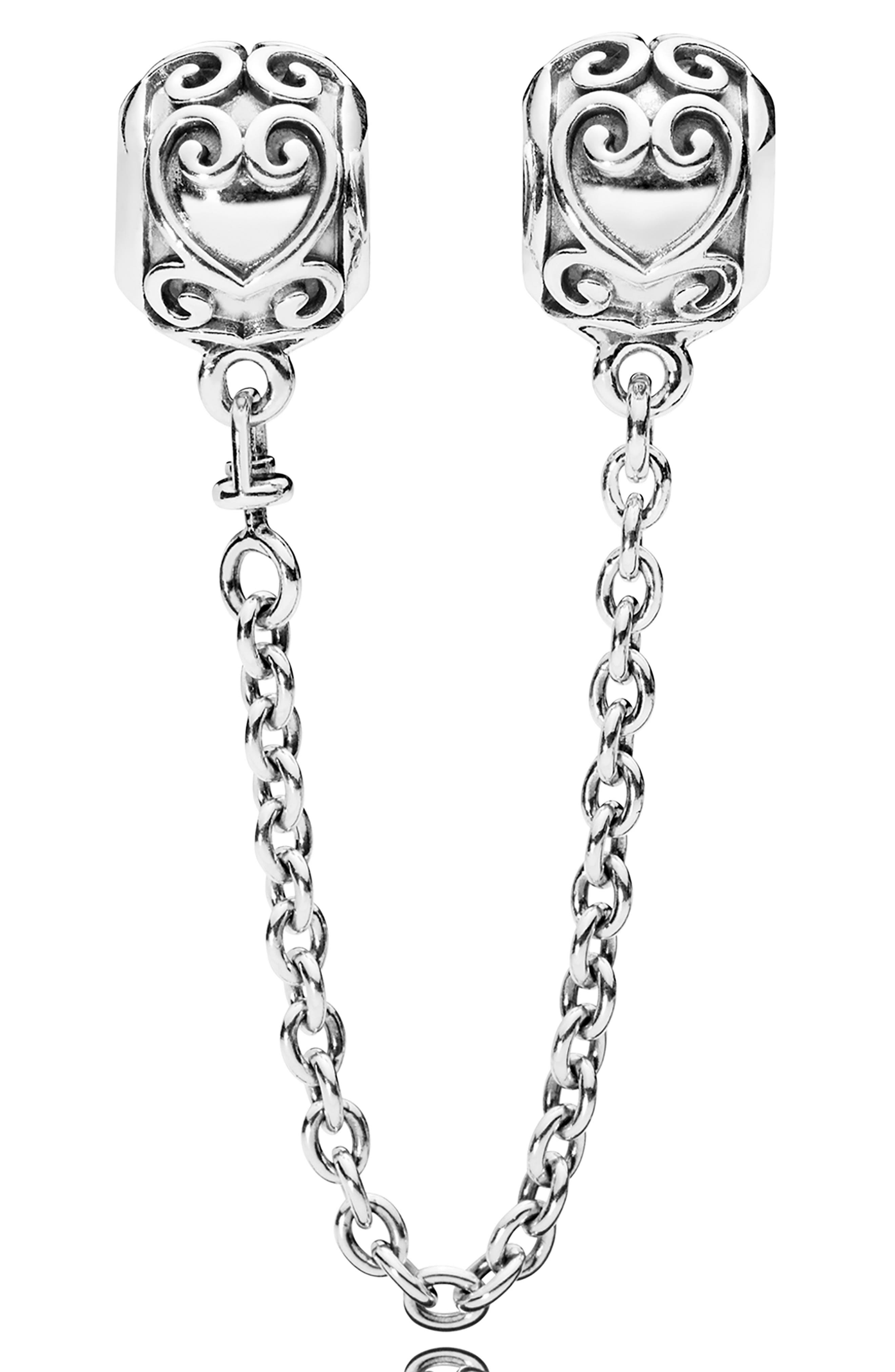 Enchanted Heart Safety Chain, Main, color, 040