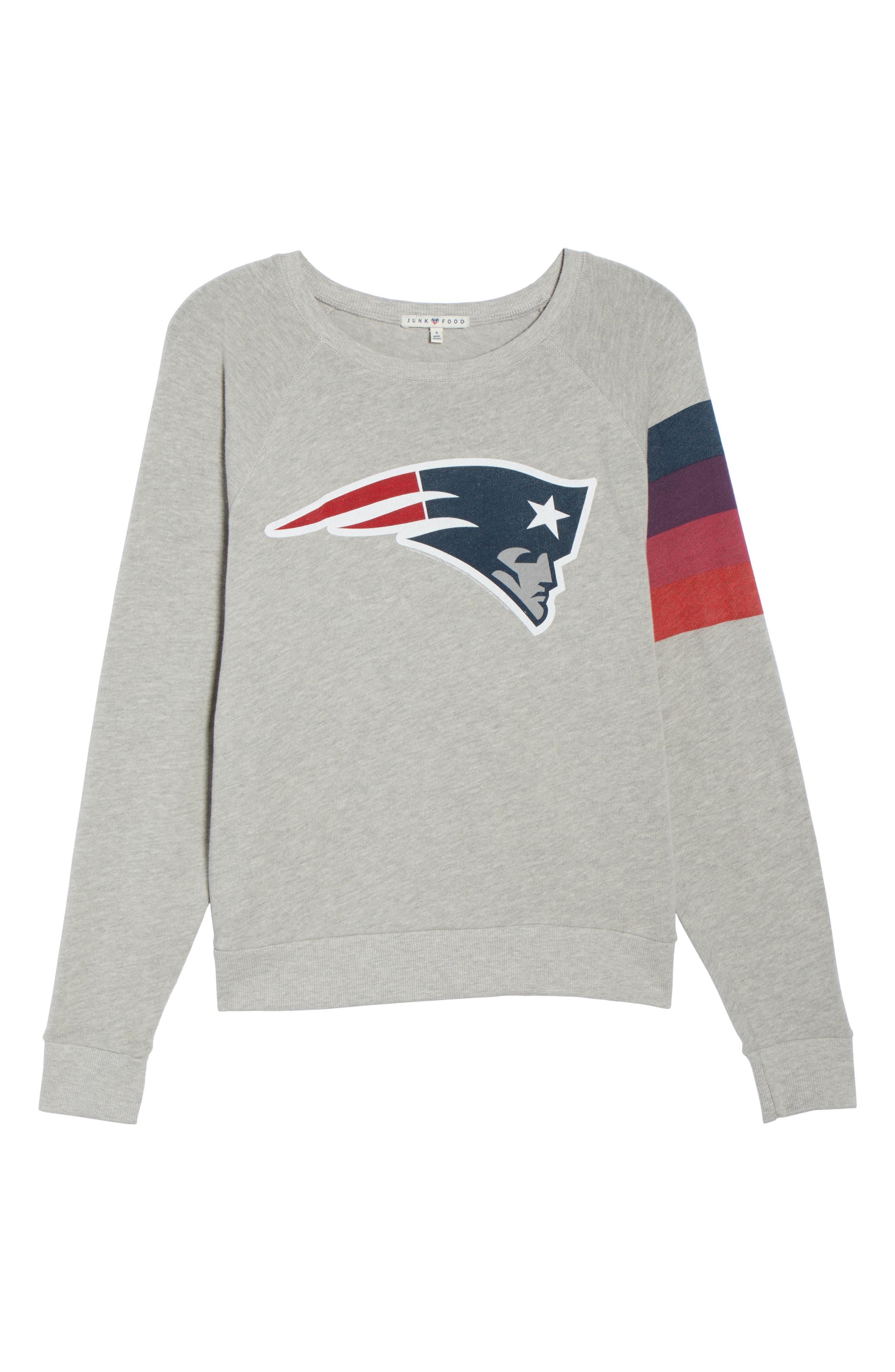 NFL New England Patriots Hacci Sweatshirt,                             Alternate thumbnail 6, color,                             030