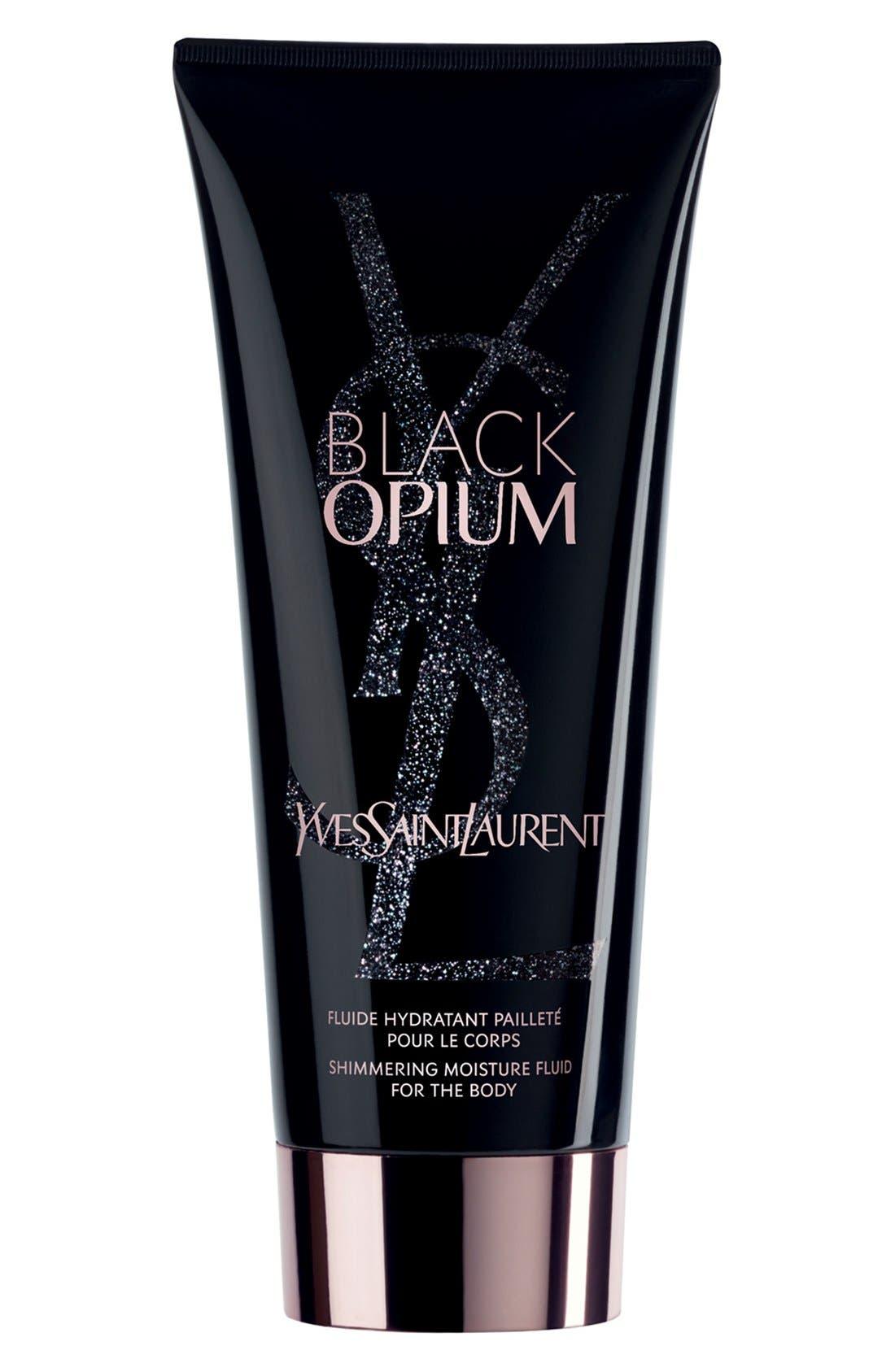 Black Opium Shimmering Moisture Fluid,                             Main thumbnail 1, color,                             NO COLOR