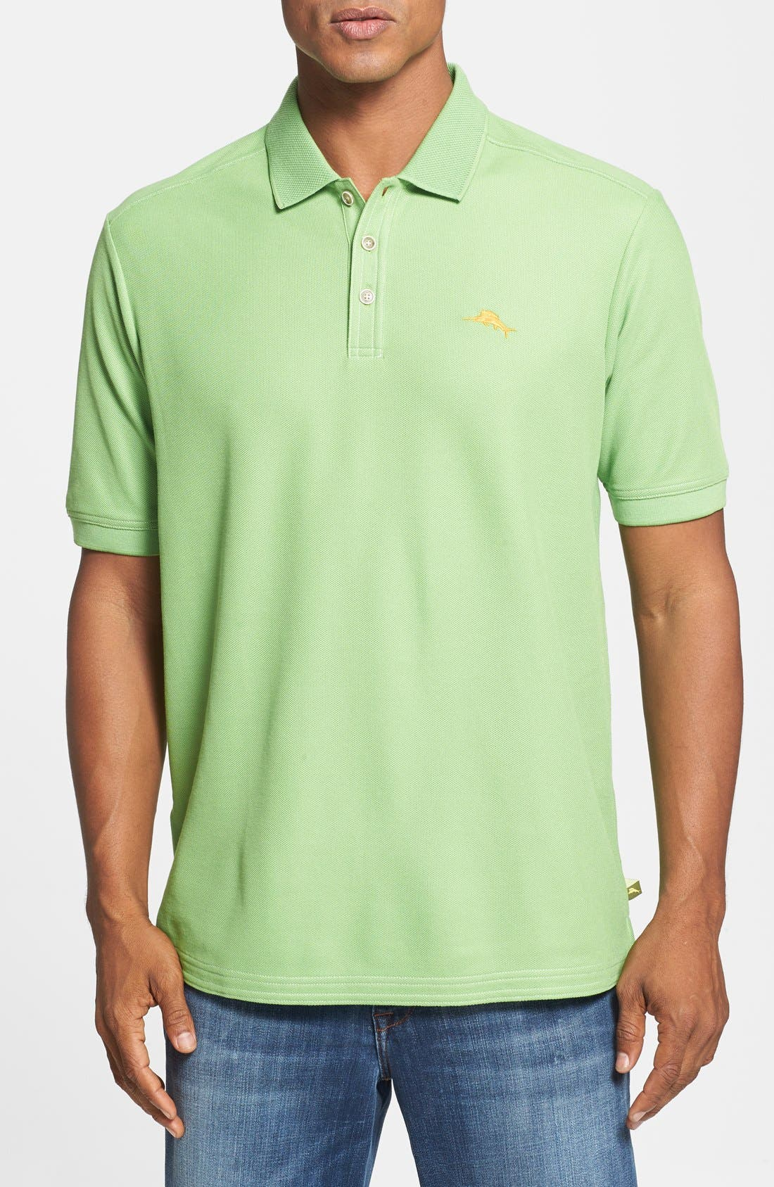 'The Emfielder' Original Fit Piqué Polo,                             Main thumbnail 42, color,