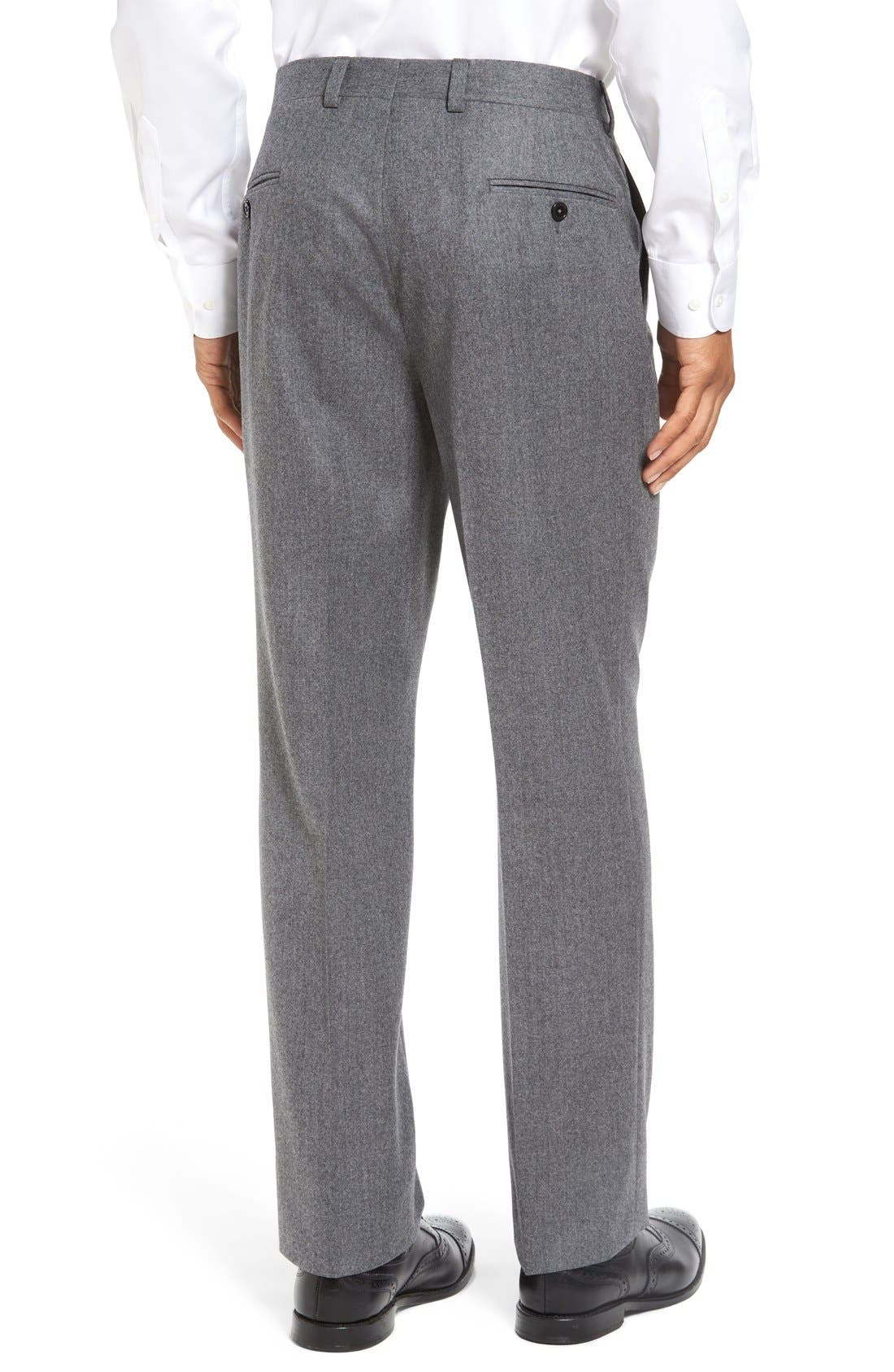 'Ryan' Classic Fit Trousers,                             Alternate thumbnail 3, color,                             020