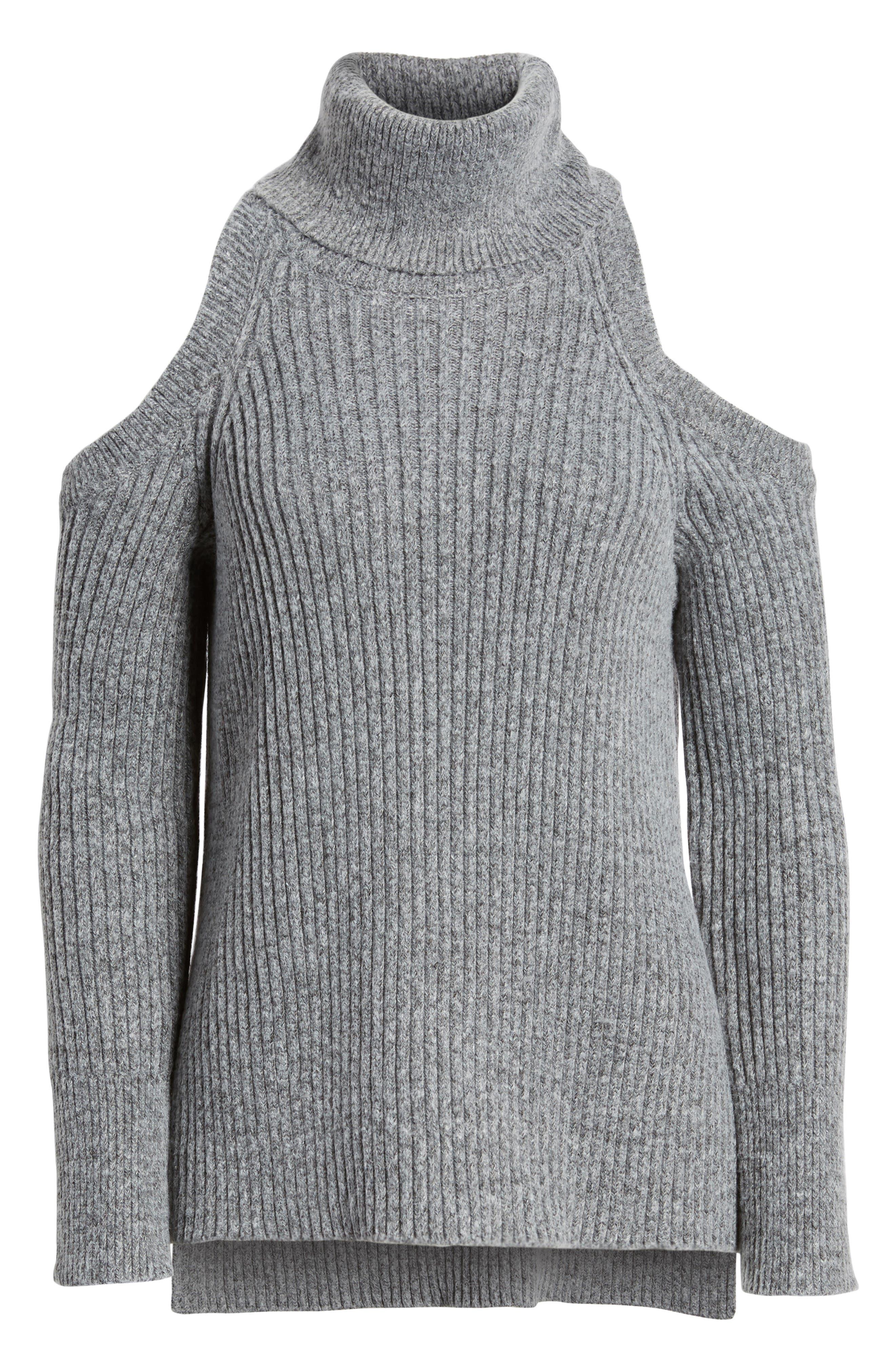 Rodell Cold Shoulder Sweater,                             Alternate thumbnail 11, color,