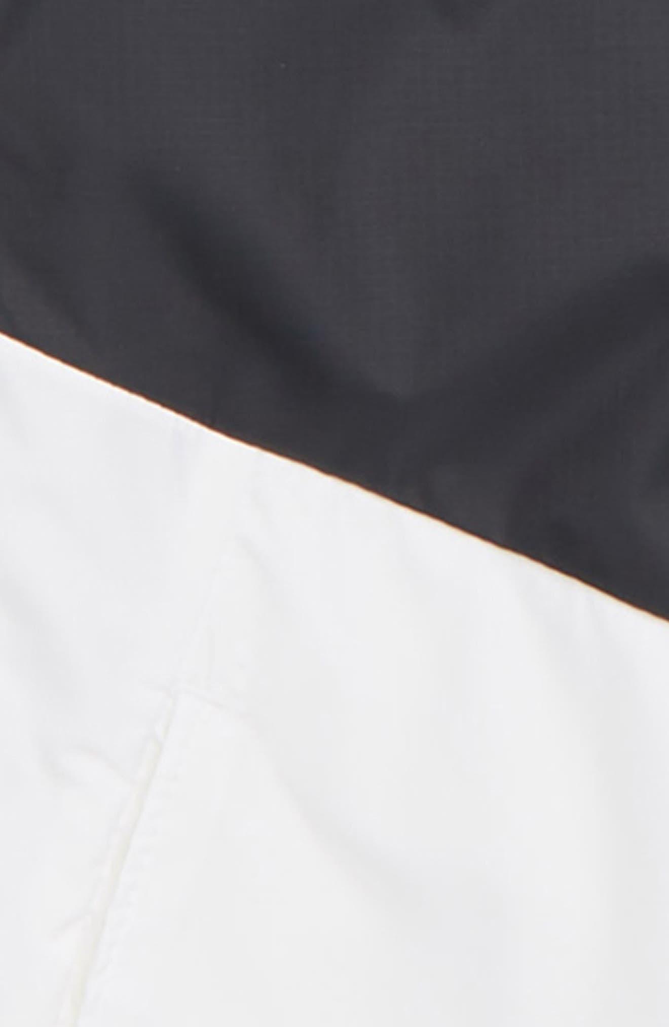 Sportswear Windrunner Jacket,                             Alternate thumbnail 2, color,                             BLACK/ WHITE/ WHITE/ WHITE