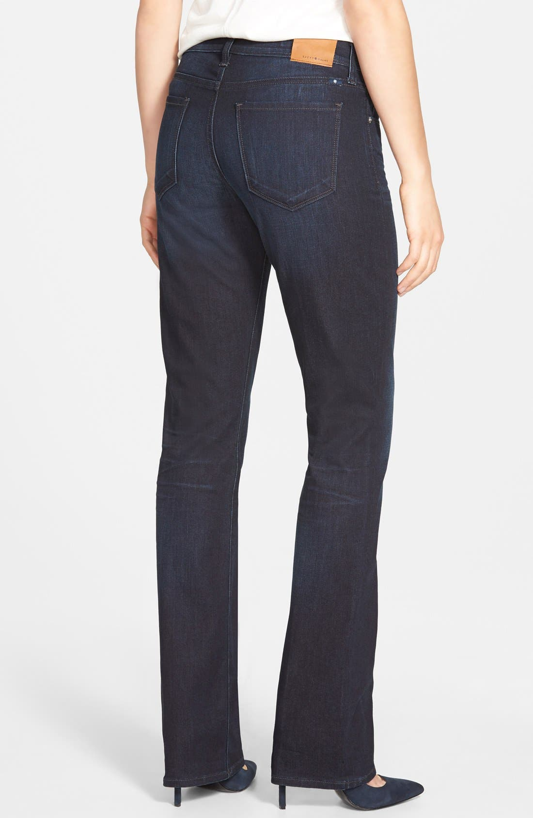 'Brooke' Stretch Bootcut Jeans,                             Alternate thumbnail 4, color,                             410