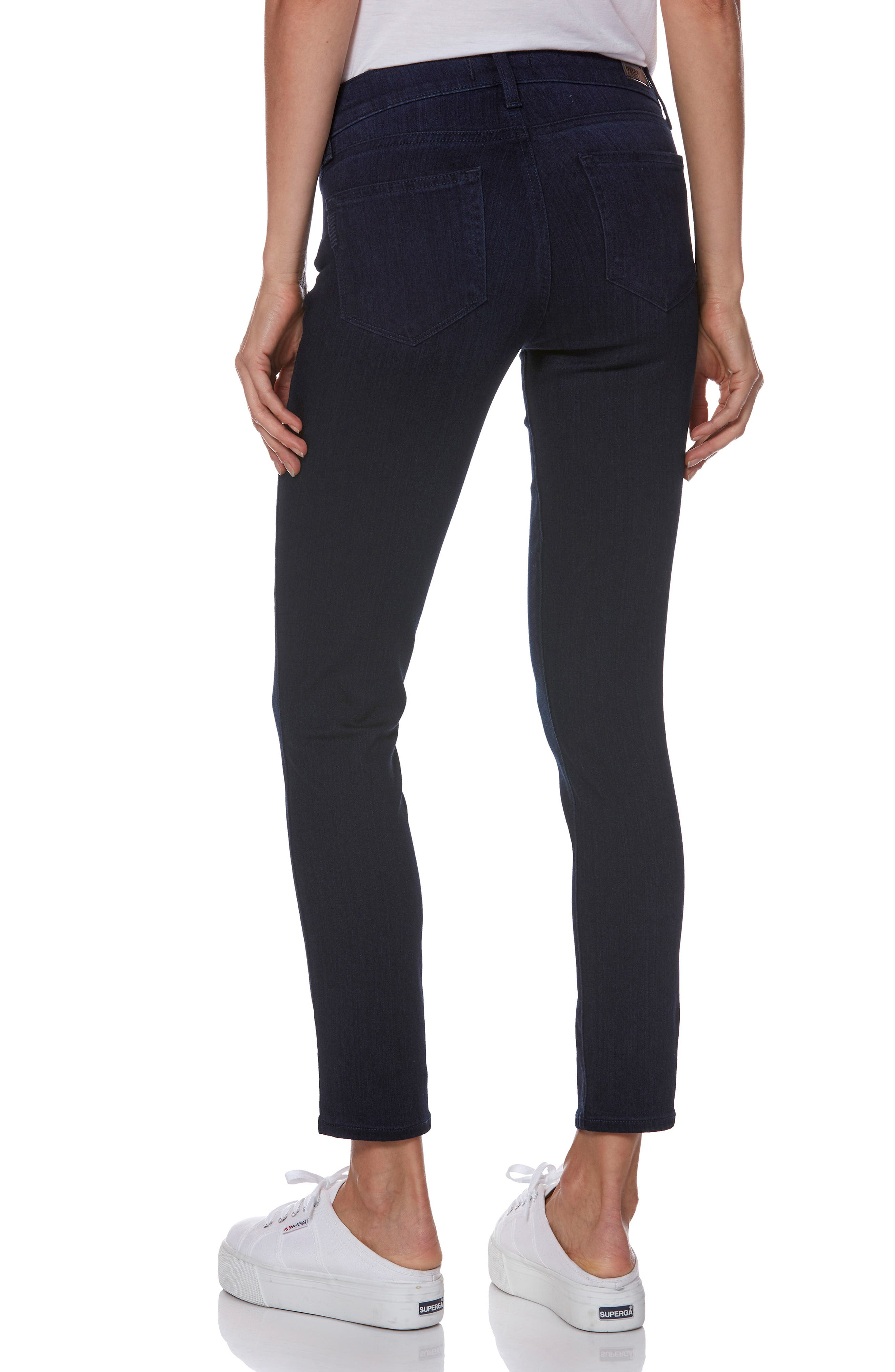 PAIGE,                             Transcend - Verdugo Ultra Skinny Maternity Jeans,                             Alternate thumbnail 2, color,                             LANA