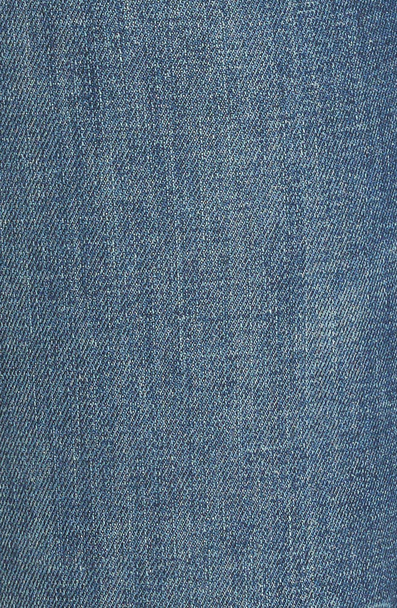 The Vamp Crop Skinny Jeans,                             Alternate thumbnail 5, color,                             419