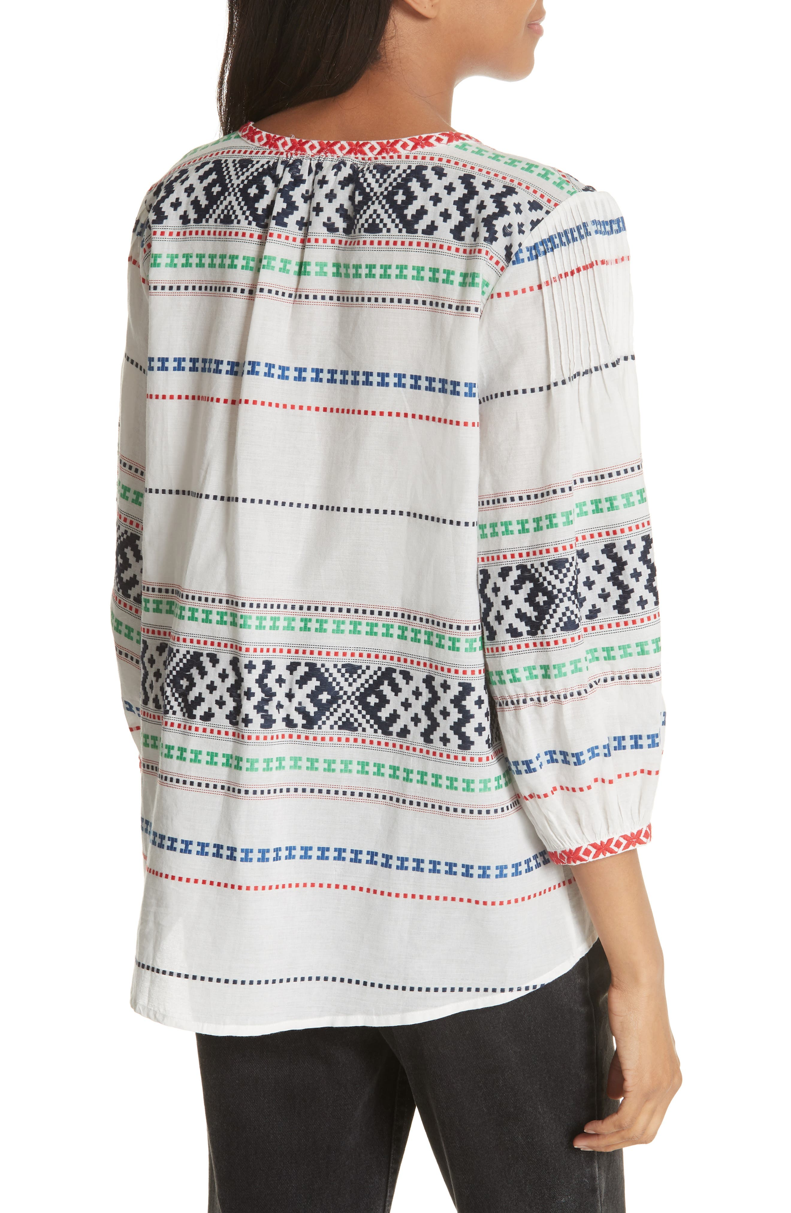 Jenollina Embroidered Top,                             Alternate thumbnail 2, color,                             114