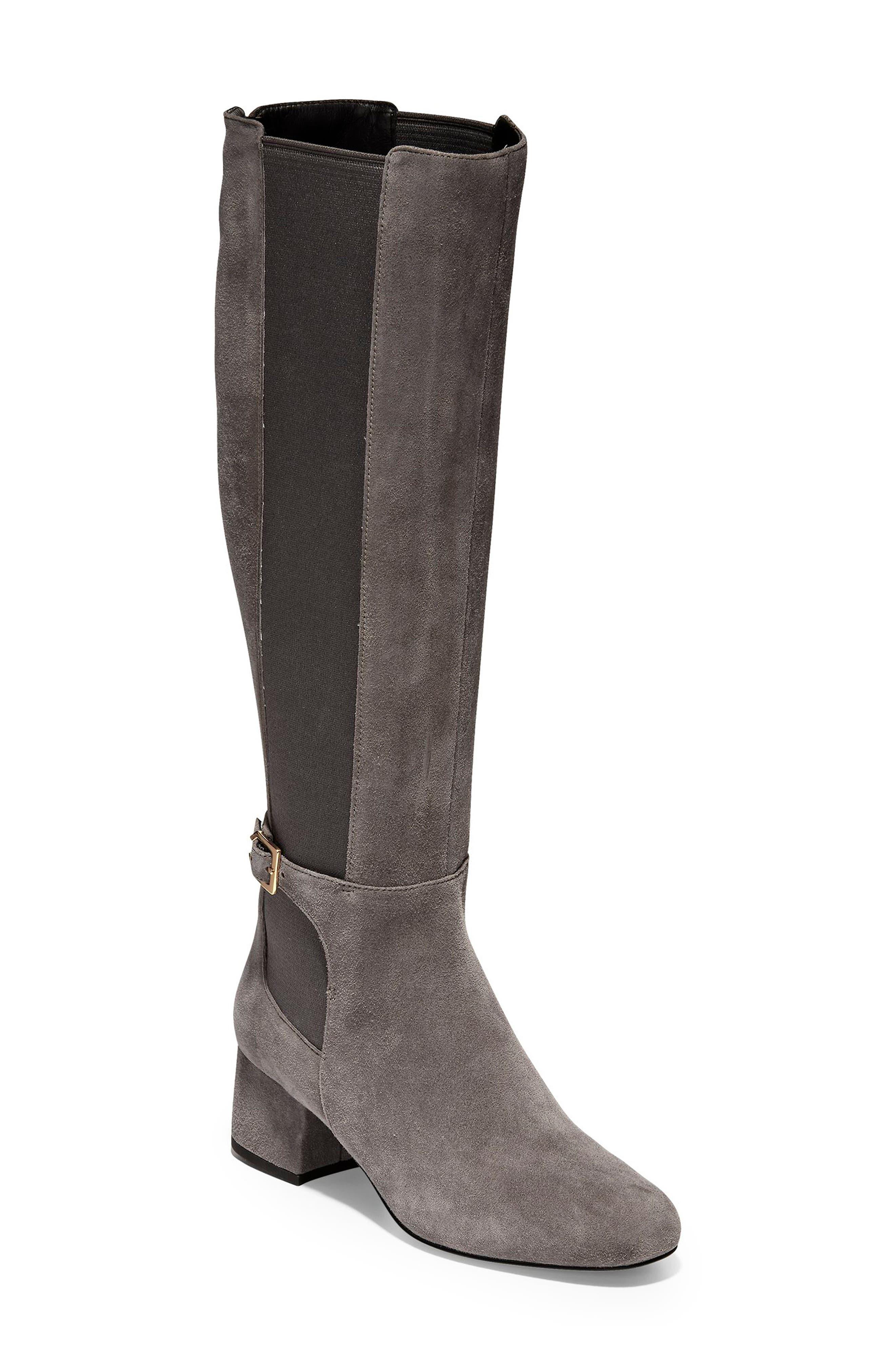 Cole Haan Avani Stretch Boot B - Grey