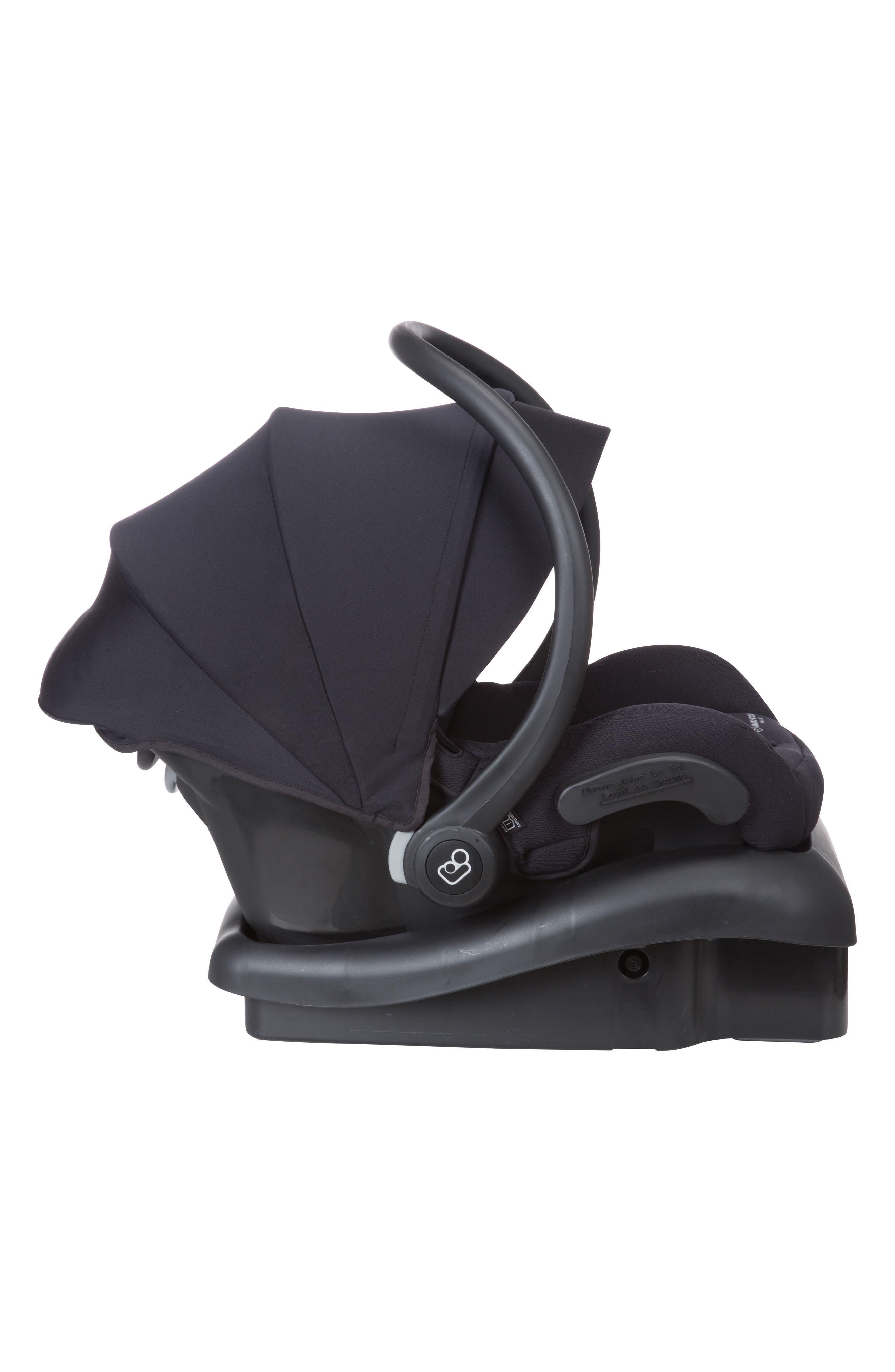 Mico 30 Infant Car Seat,                             Alternate thumbnail 3, color,                             NIGHT BLACK