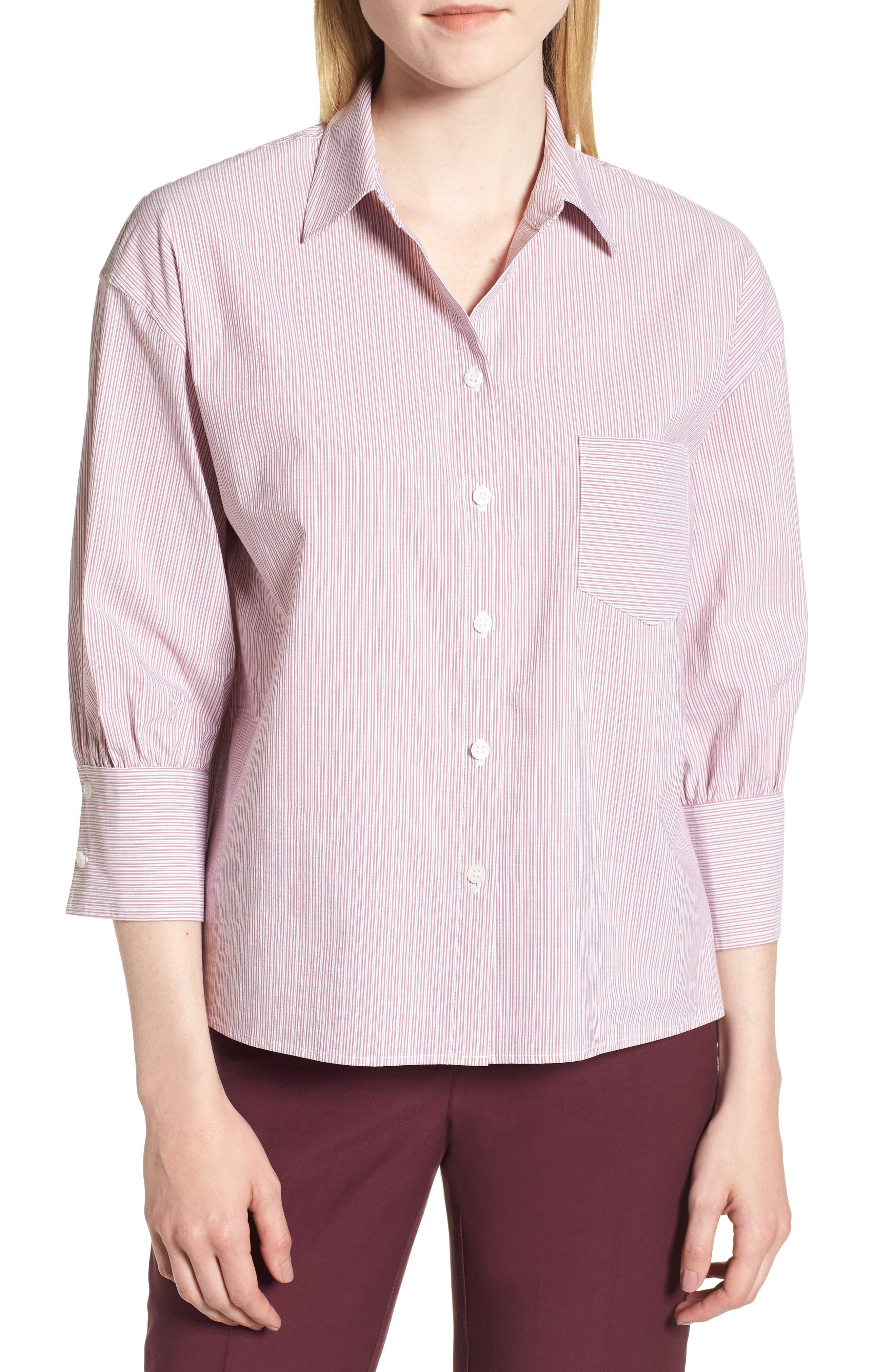Stripe Shirt,                             Main thumbnail 1, color,                             938