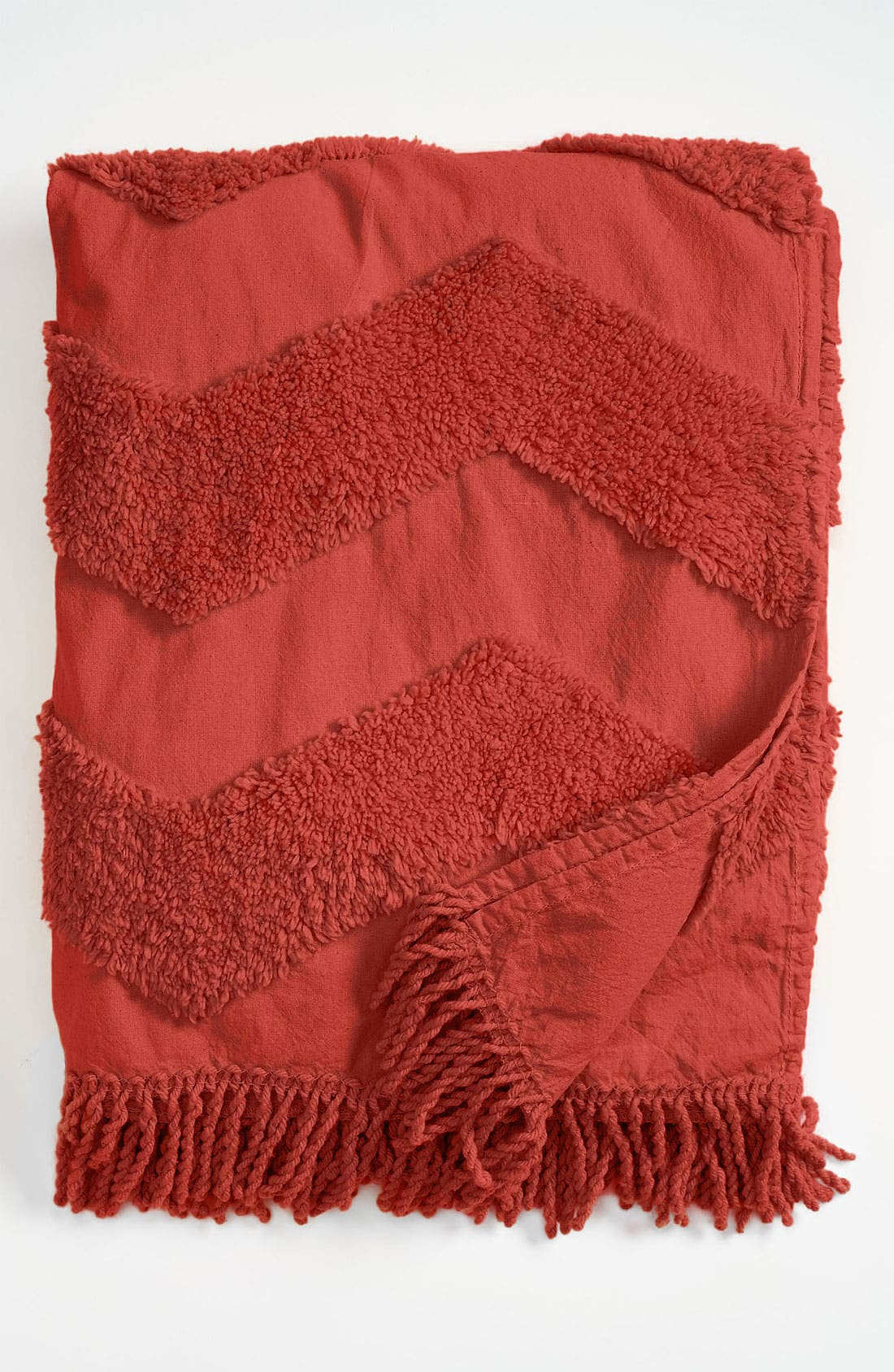 Zigzag Tufted Throw,                             Main thumbnail 3, color,
