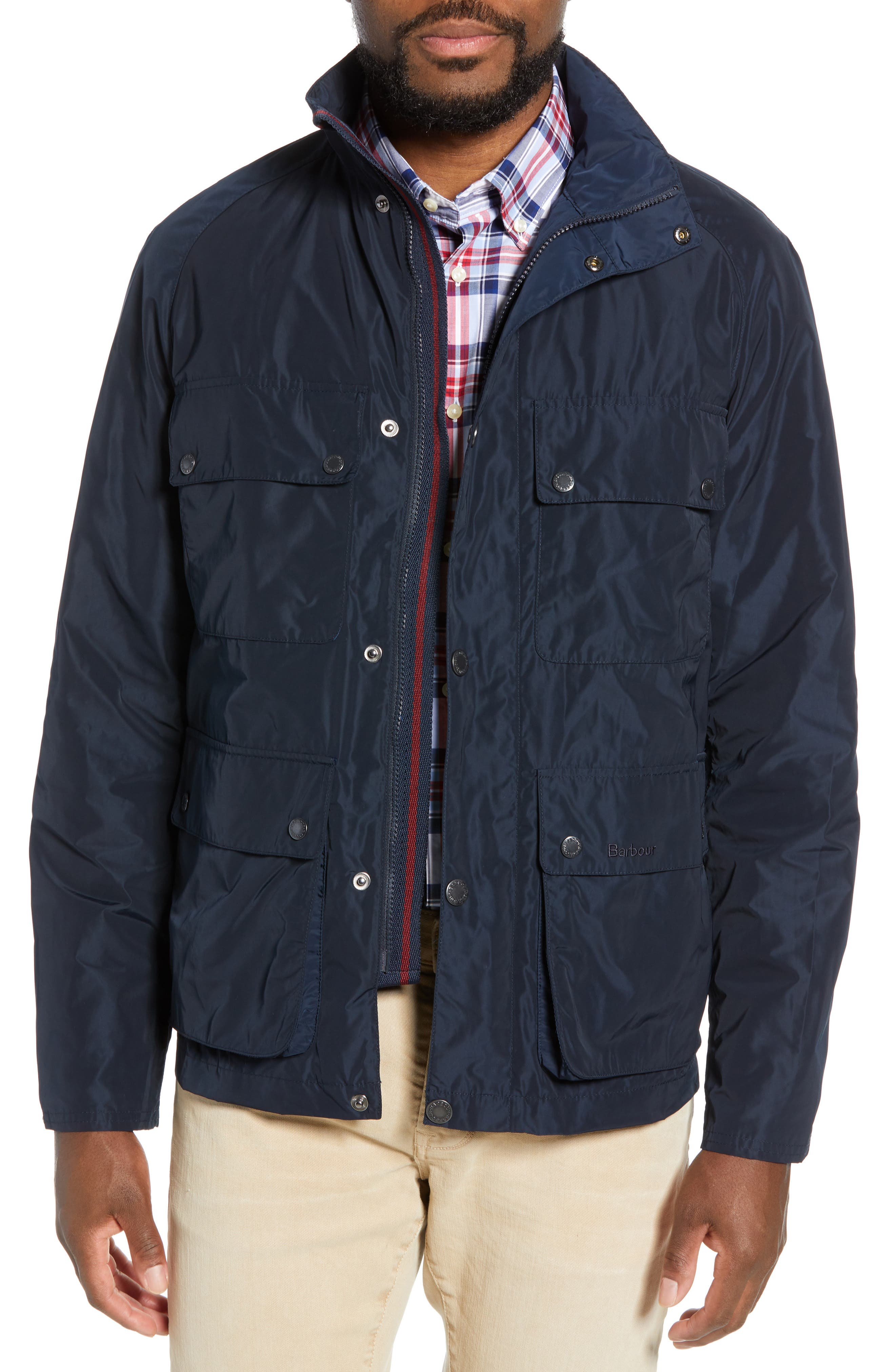 Barbour Inchkeith Taoilored Fit Jacket, Blue