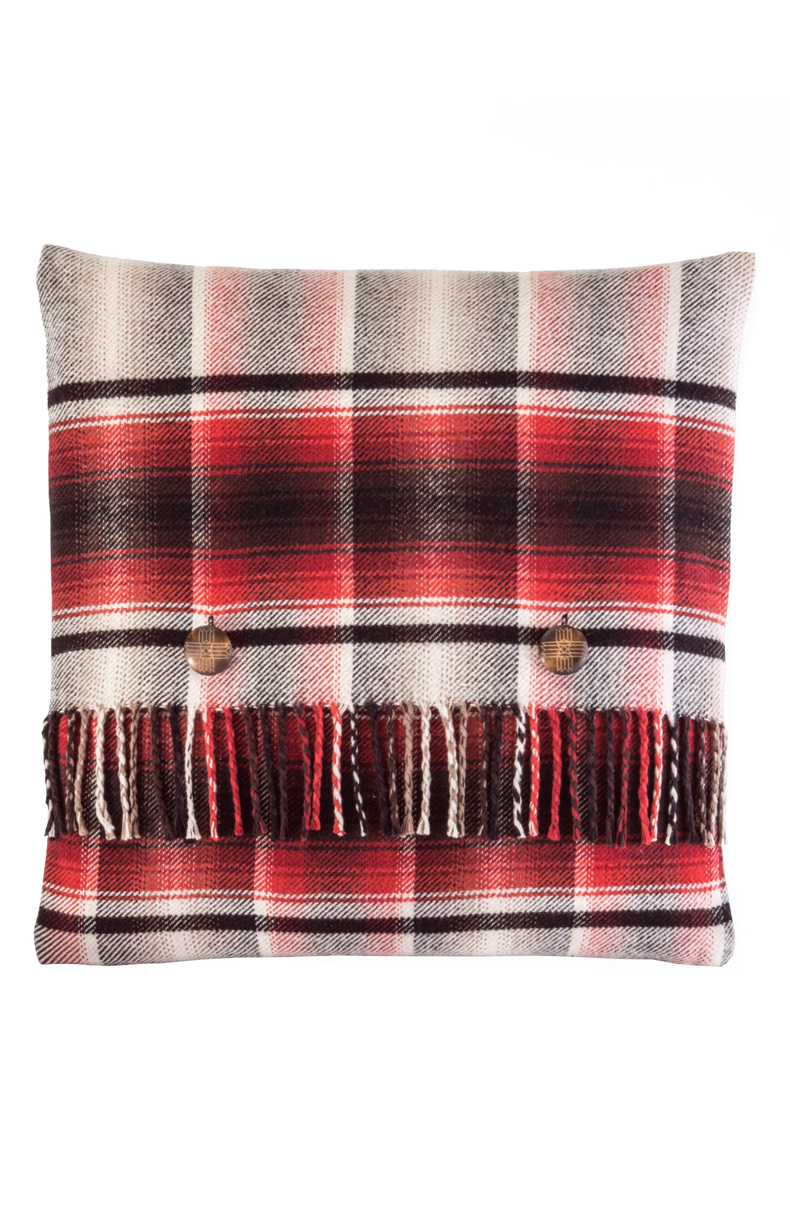 Board Shirt Plaid Pillow,                             Main thumbnail 1, color,                             600