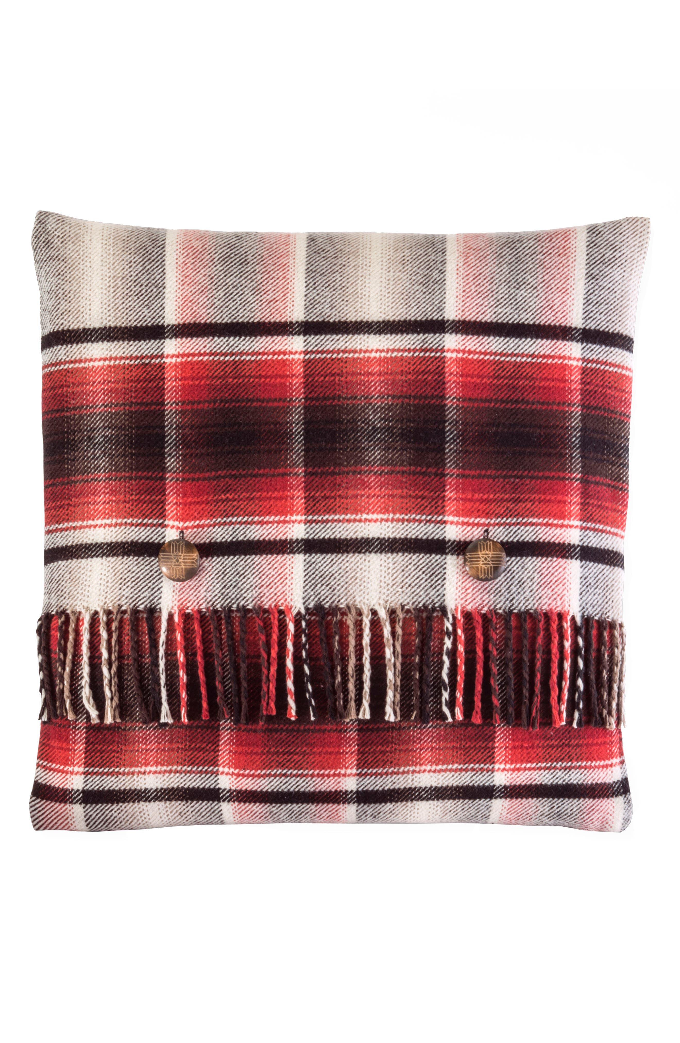 Board Shirt Plaid Pillow,                         Main,                         color, 600