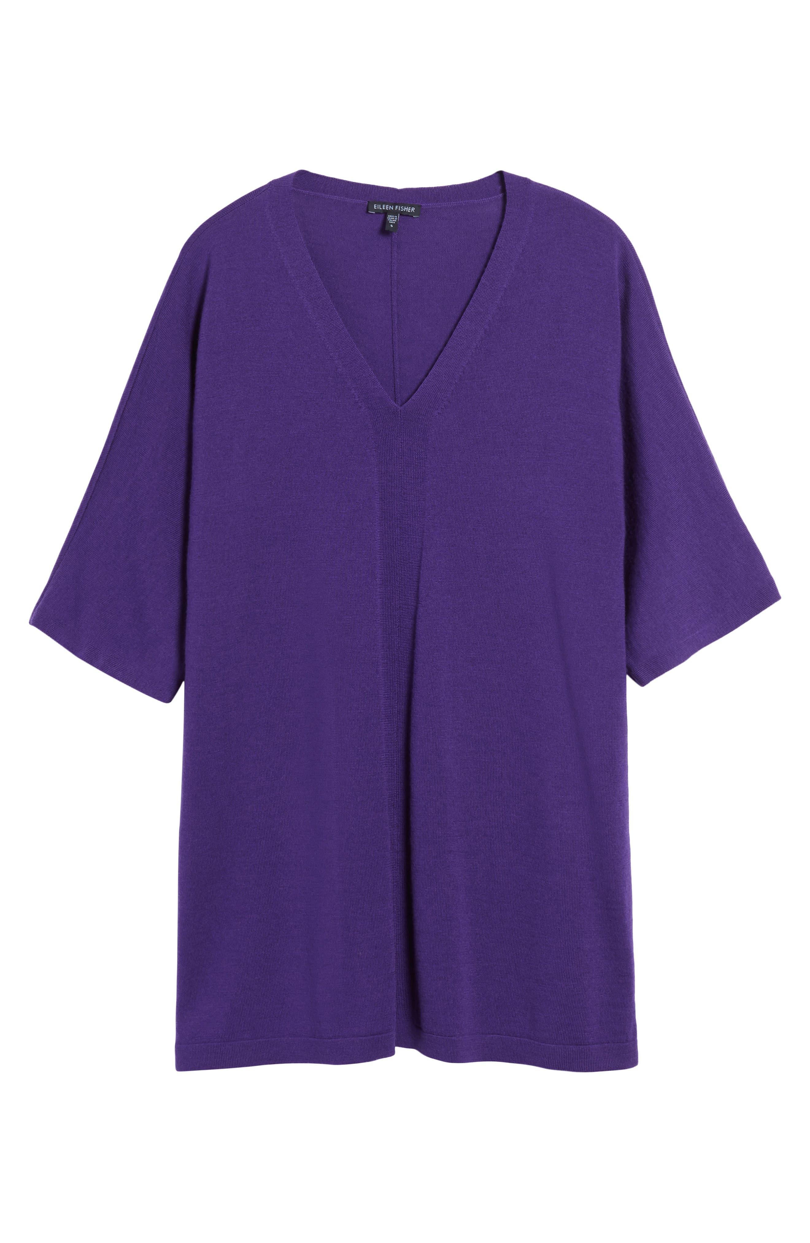 Merino Wool Tunic Sweater,                             Alternate thumbnail 39, color,
