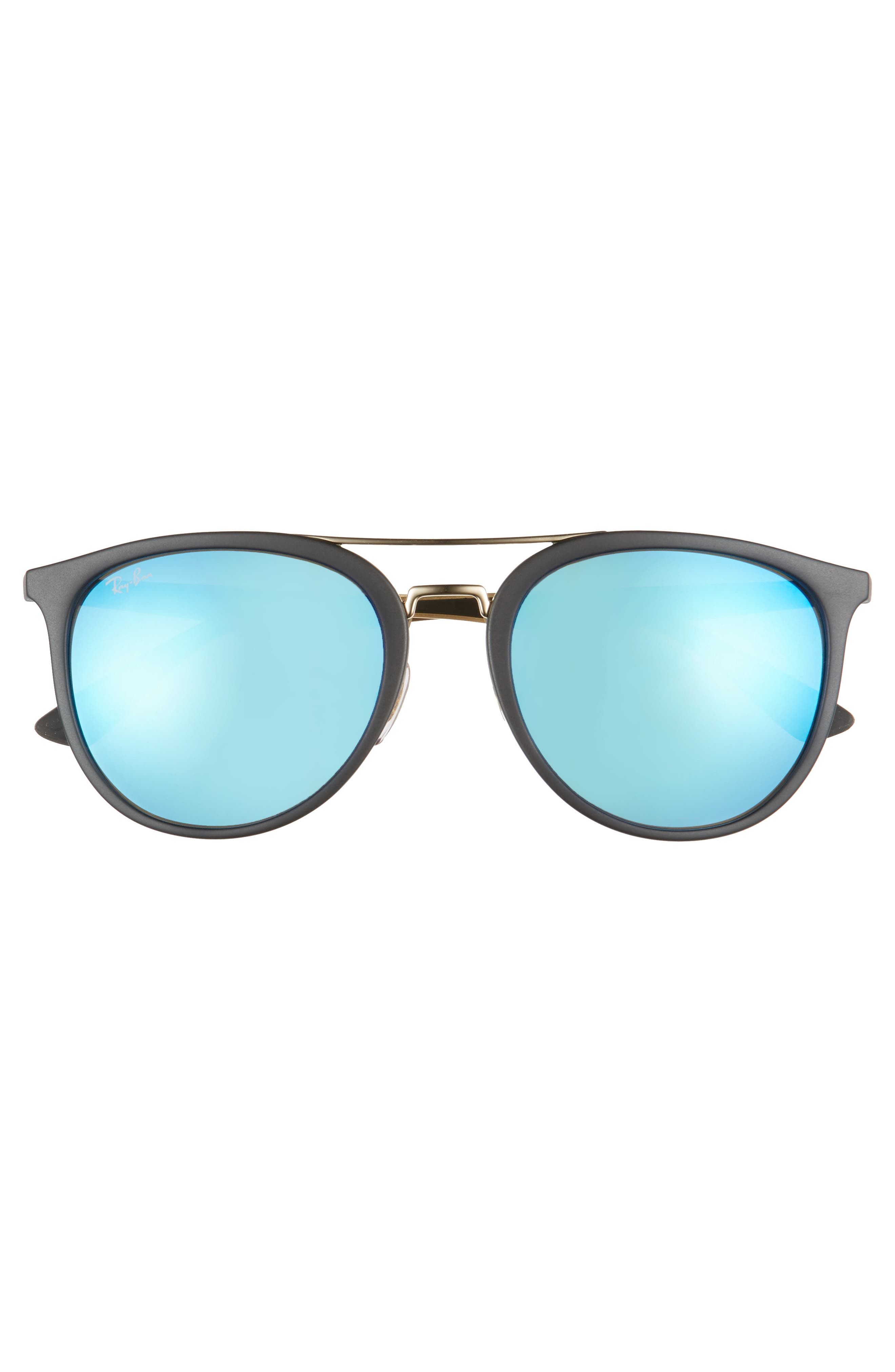 55mm Retro Sunglasses,                             Alternate thumbnail 2, color,