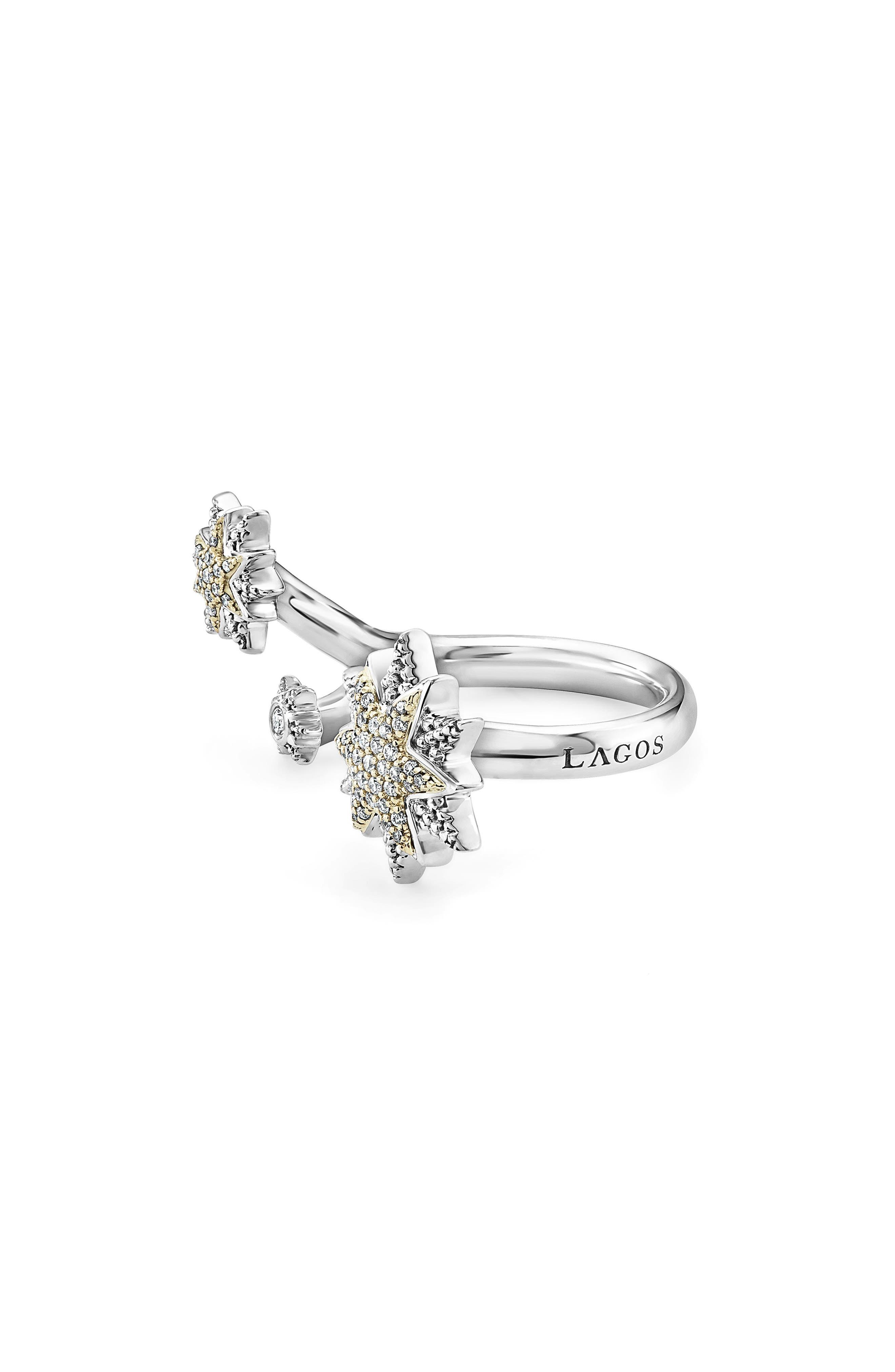 North Star Diamond Ring,                             Alternate thumbnail 2, color,                             DIAMOND
