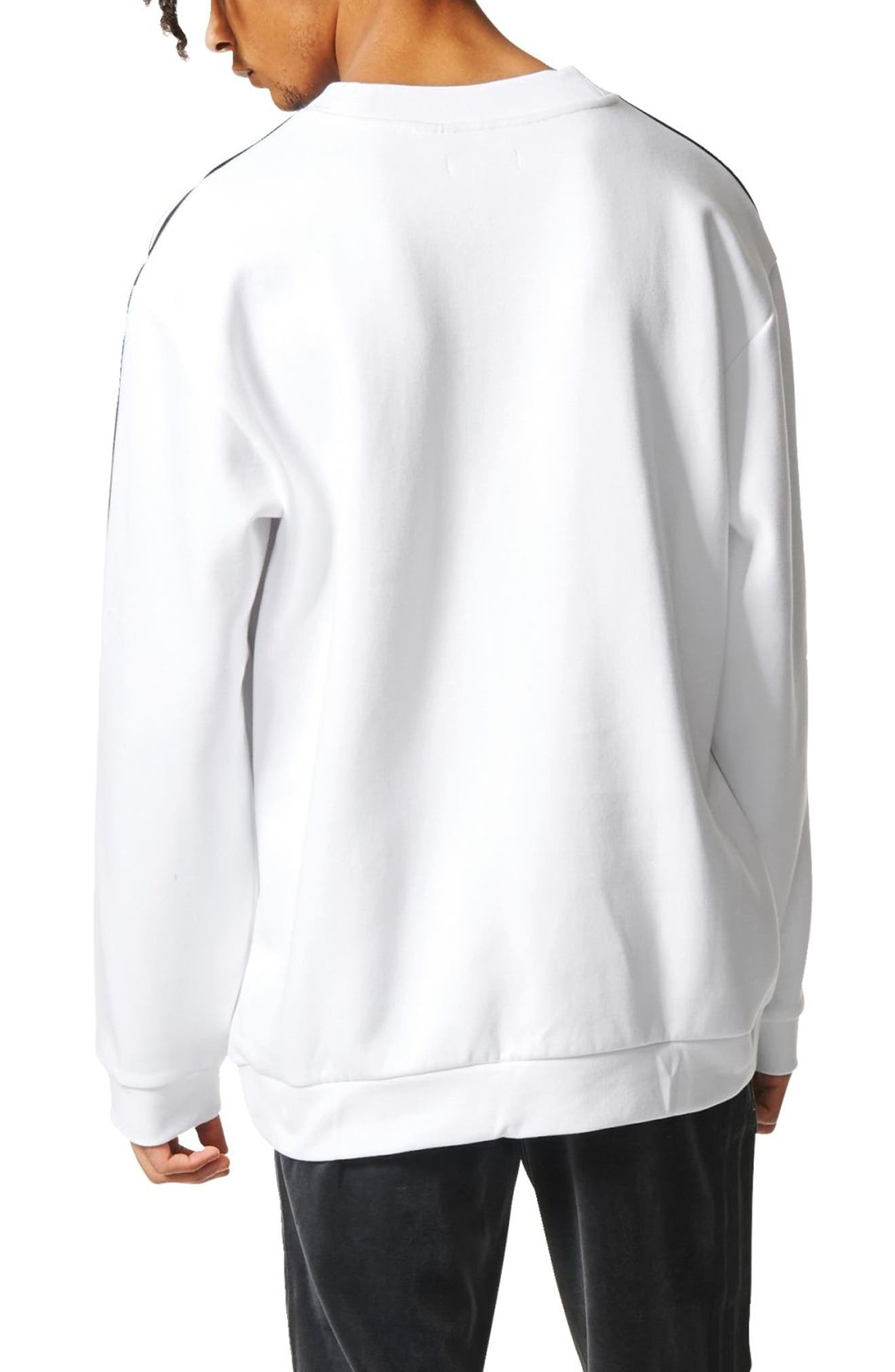 Linear Graphic Sweatshirt,                             Alternate thumbnail 2, color,                             100