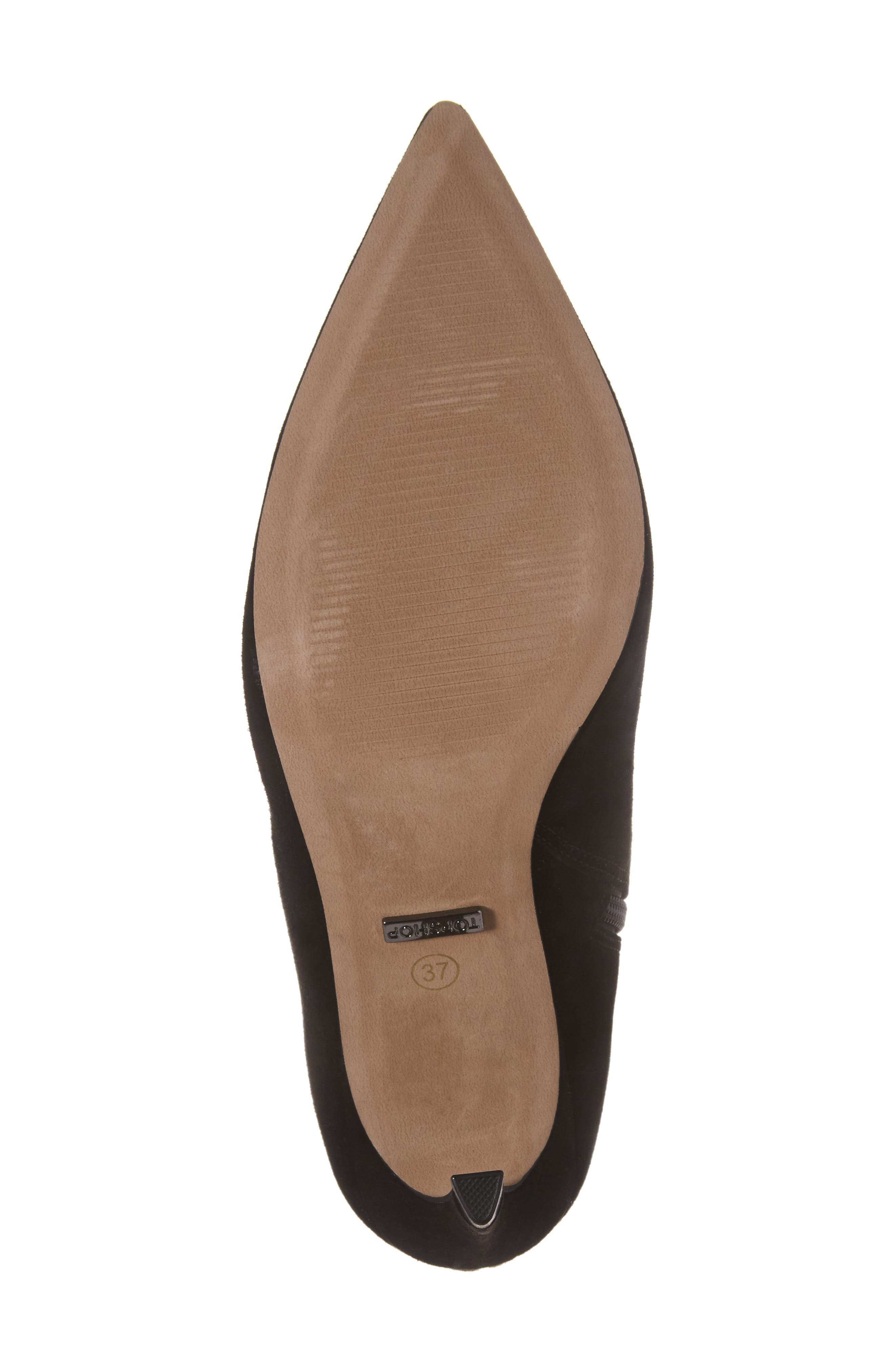 Hot Toddy Pointy Toe Boot,                             Alternate thumbnail 6, color,                             001
