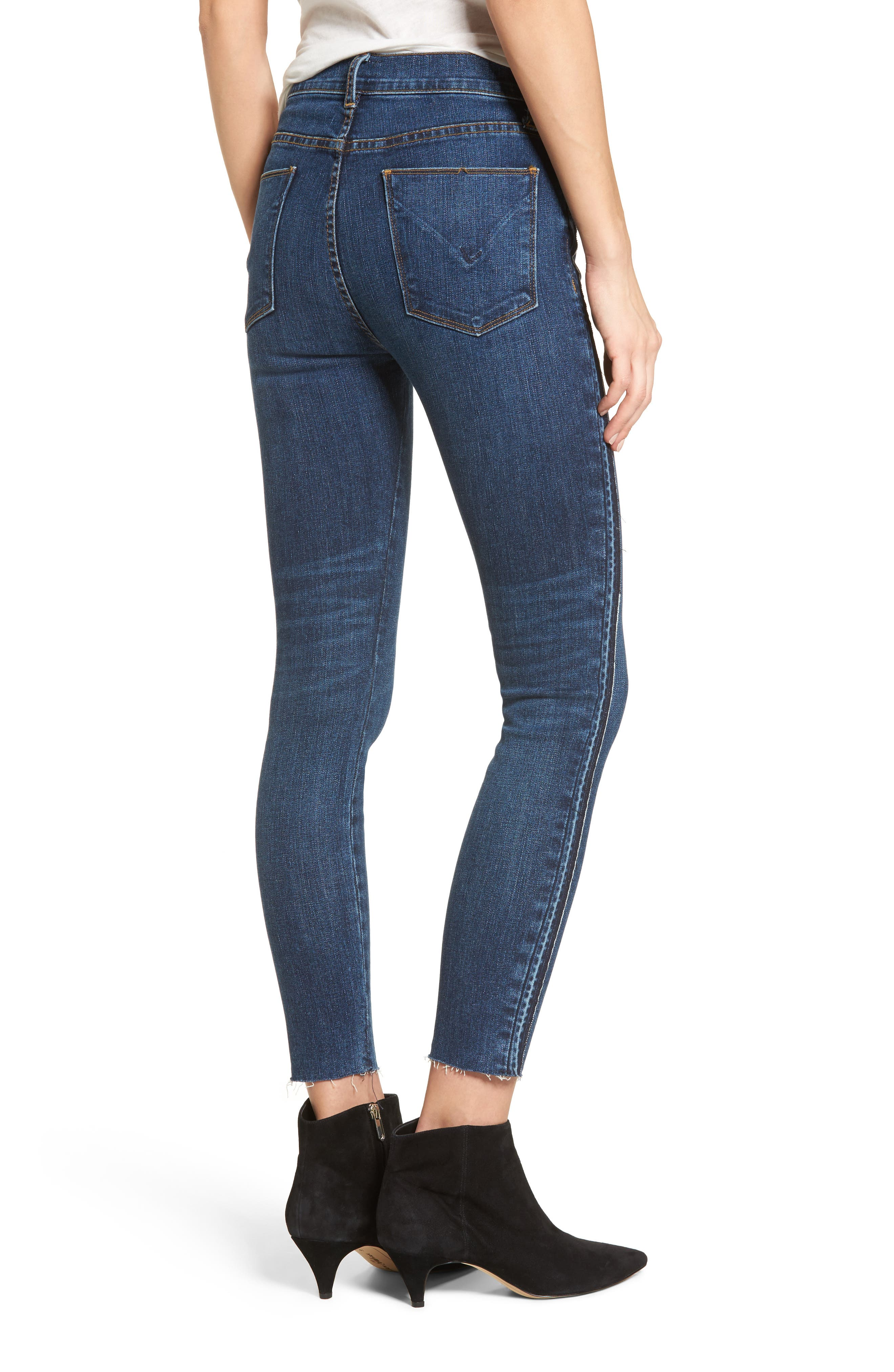 Barbara High Waist Super Skinny Jeans,                             Alternate thumbnail 2, color,                             400