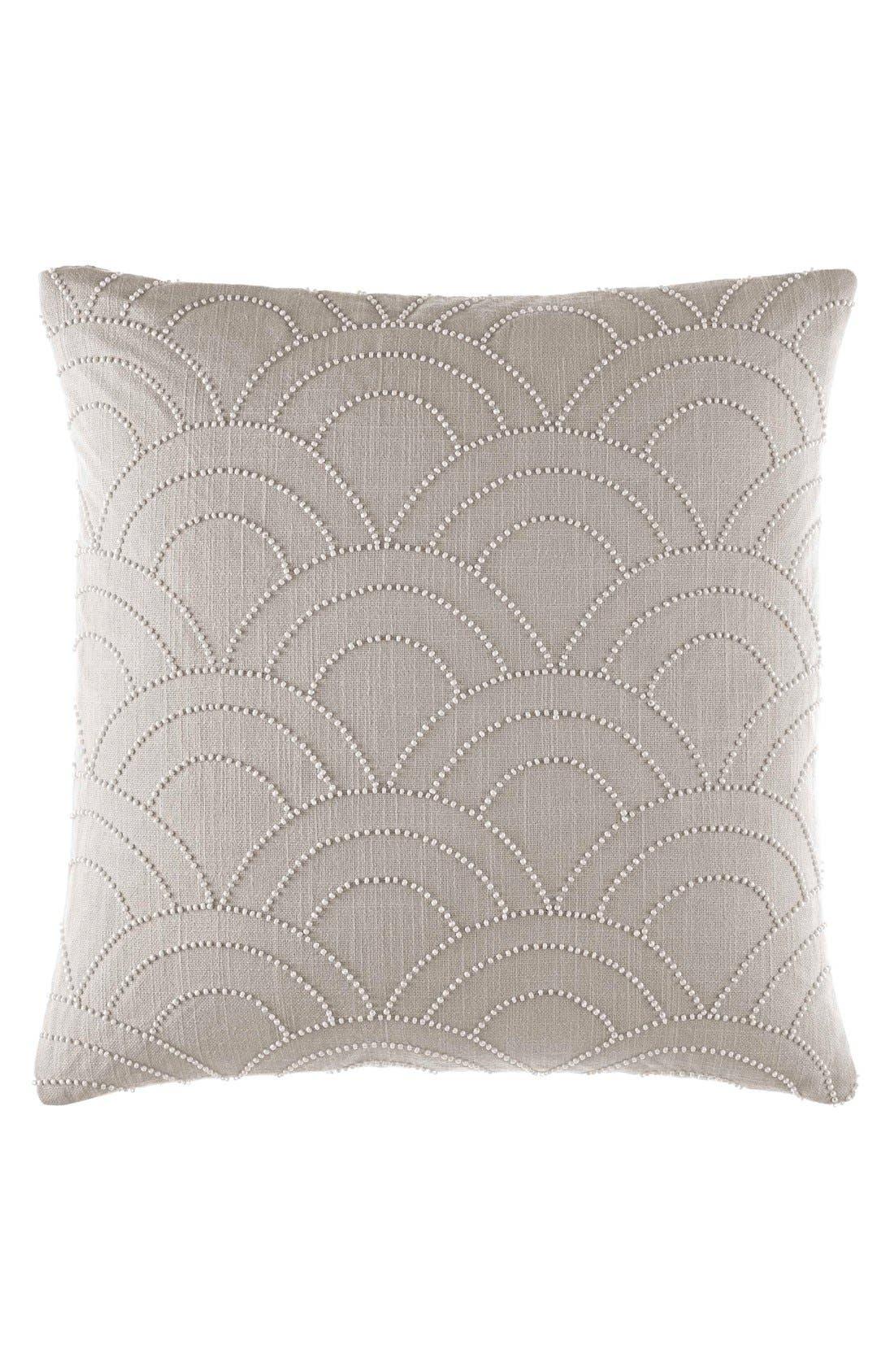 'Metro Adrian' Beaded Pillow,                         Main,                         color, 020