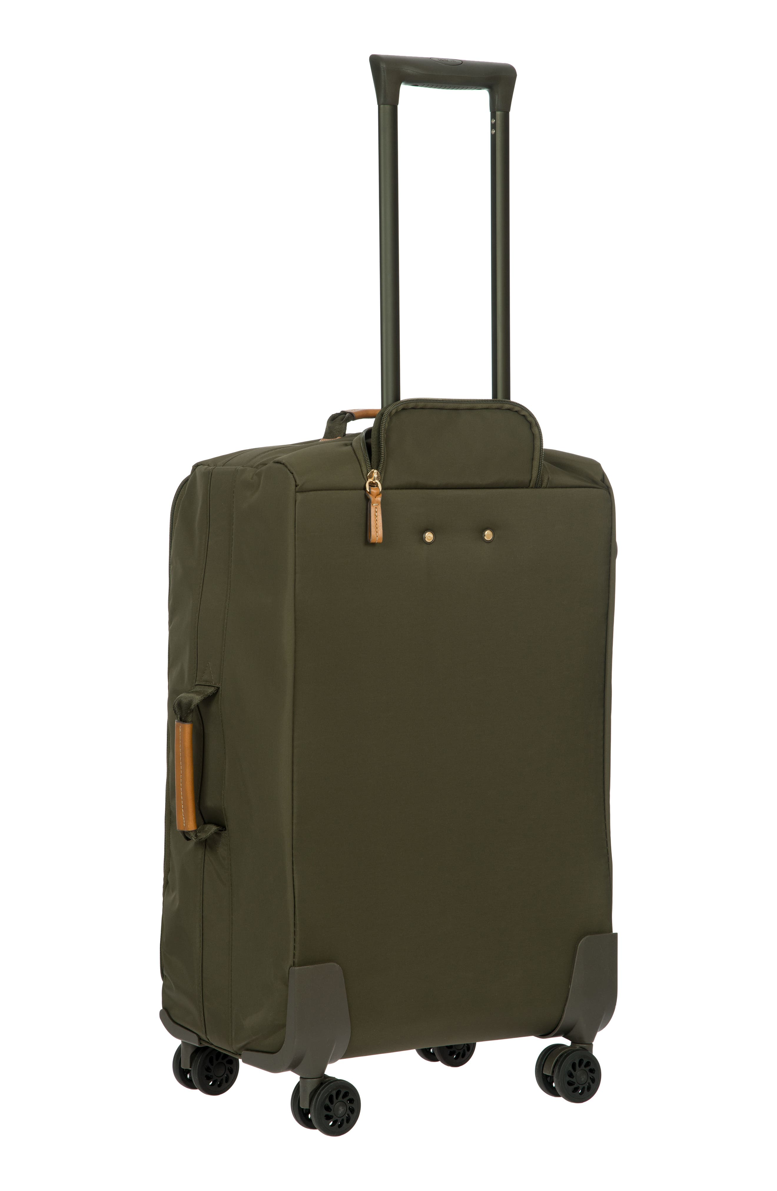 X-Bag 25-Inch Spinner Suitcase,                             Alternate thumbnail 4, color,                             OLIVE