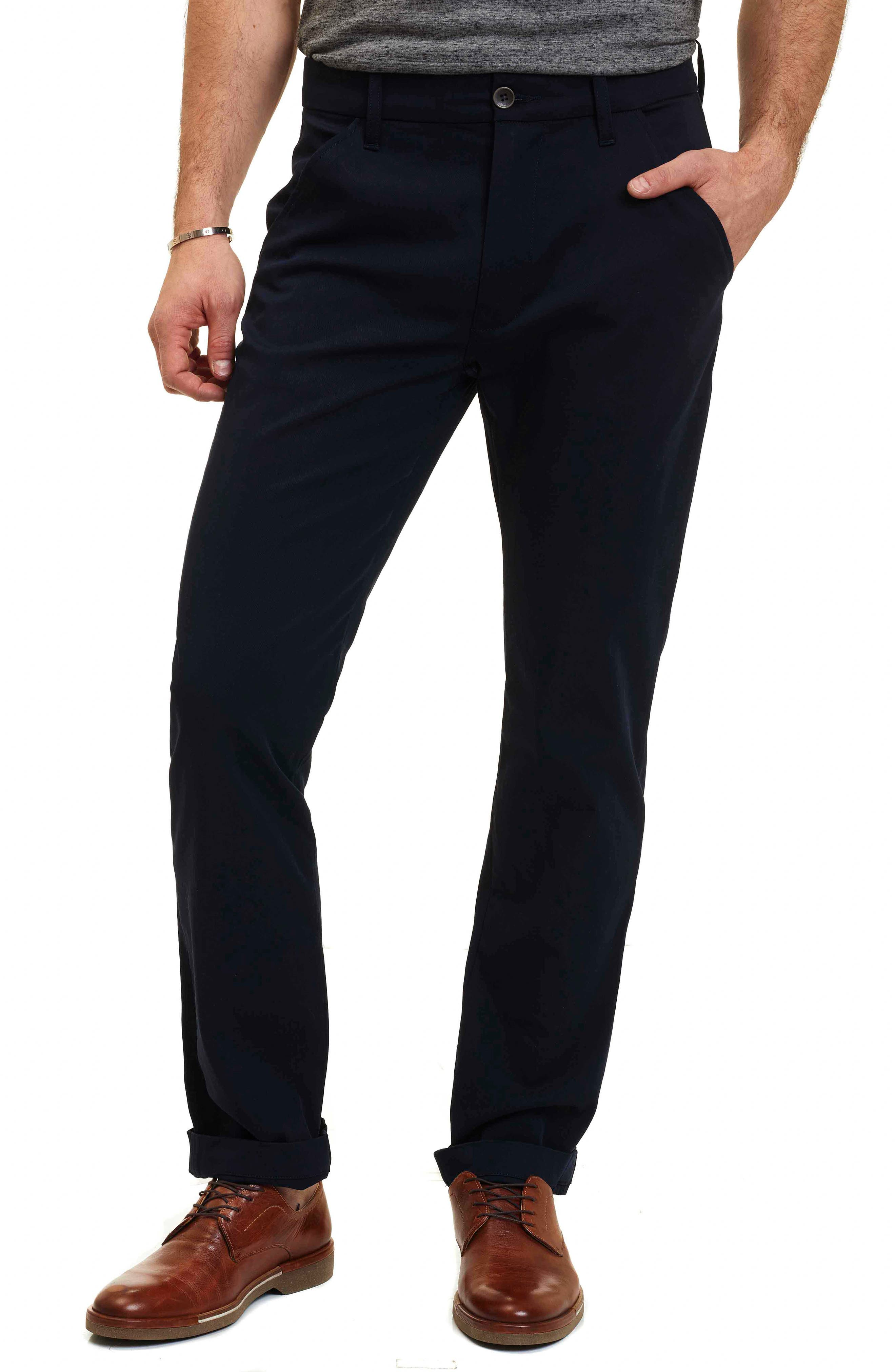Layton Tailored Fit Stretch Cotton Pants,                             Main thumbnail 2, color,