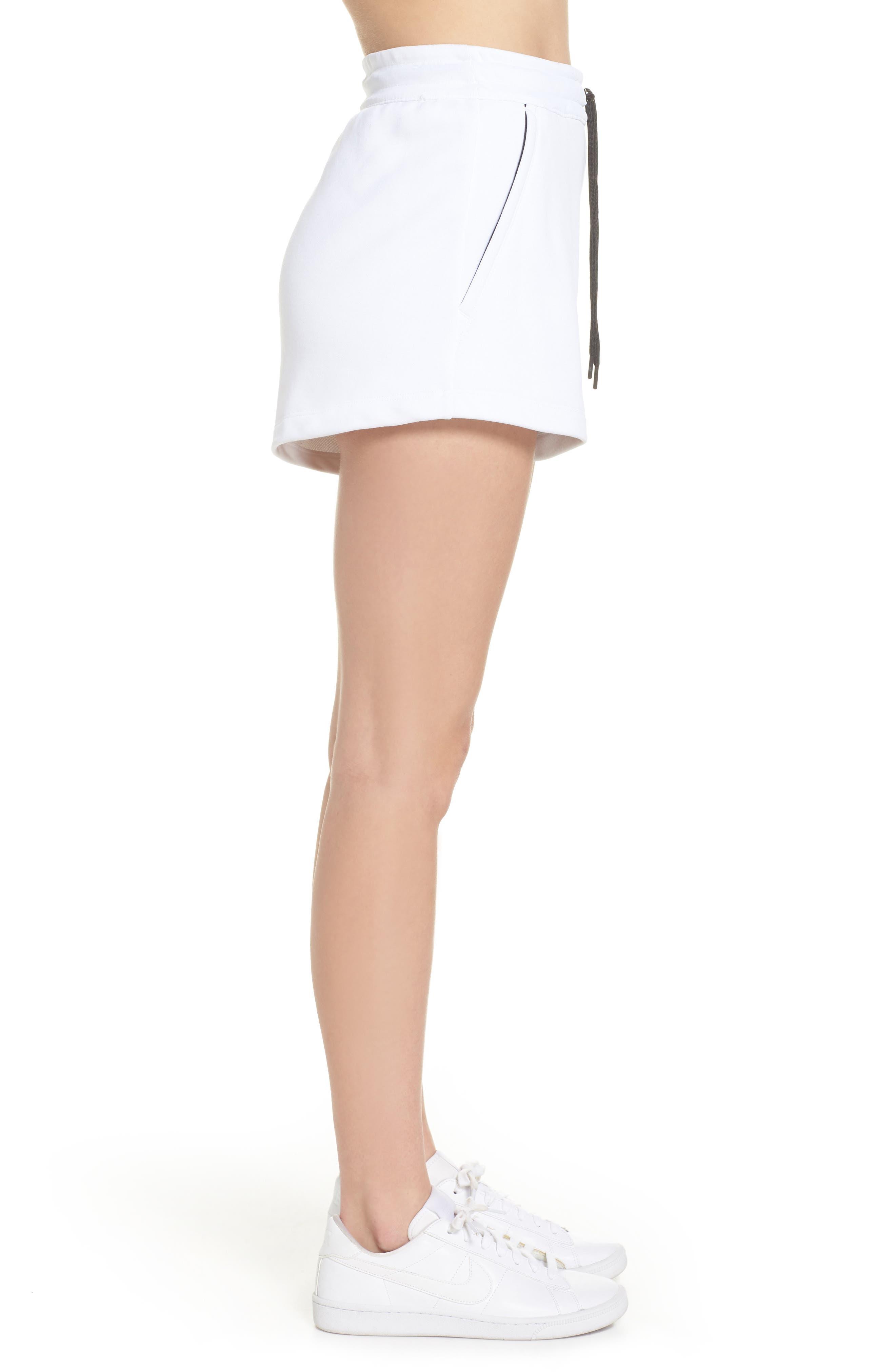NikeLab Collection Women's Fleece Shorts,                             Alternate thumbnail 3, color,                             100