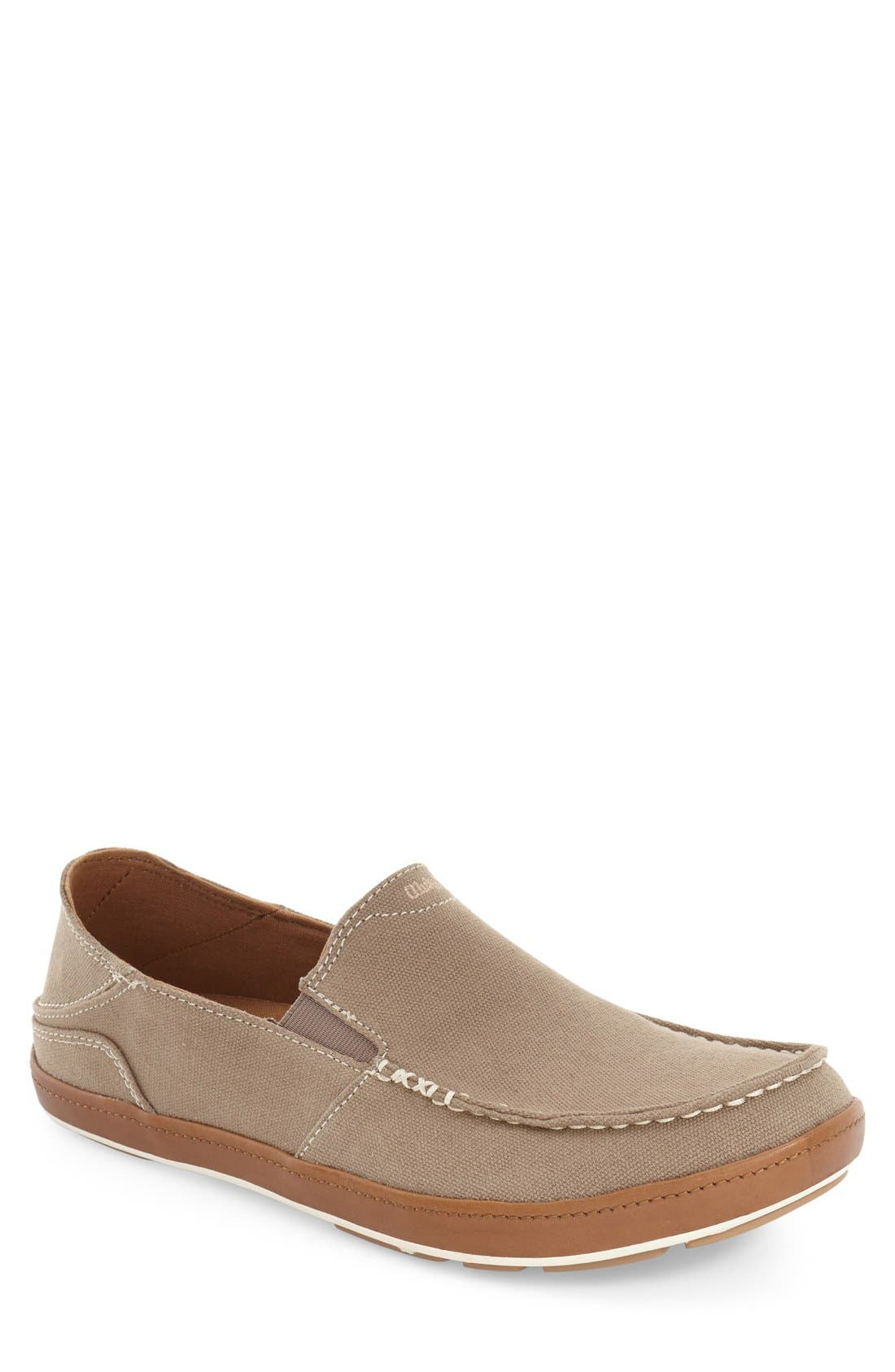 'Puhalu' Slip-On,                         Main,                         color, CLAY/ TOFFEE