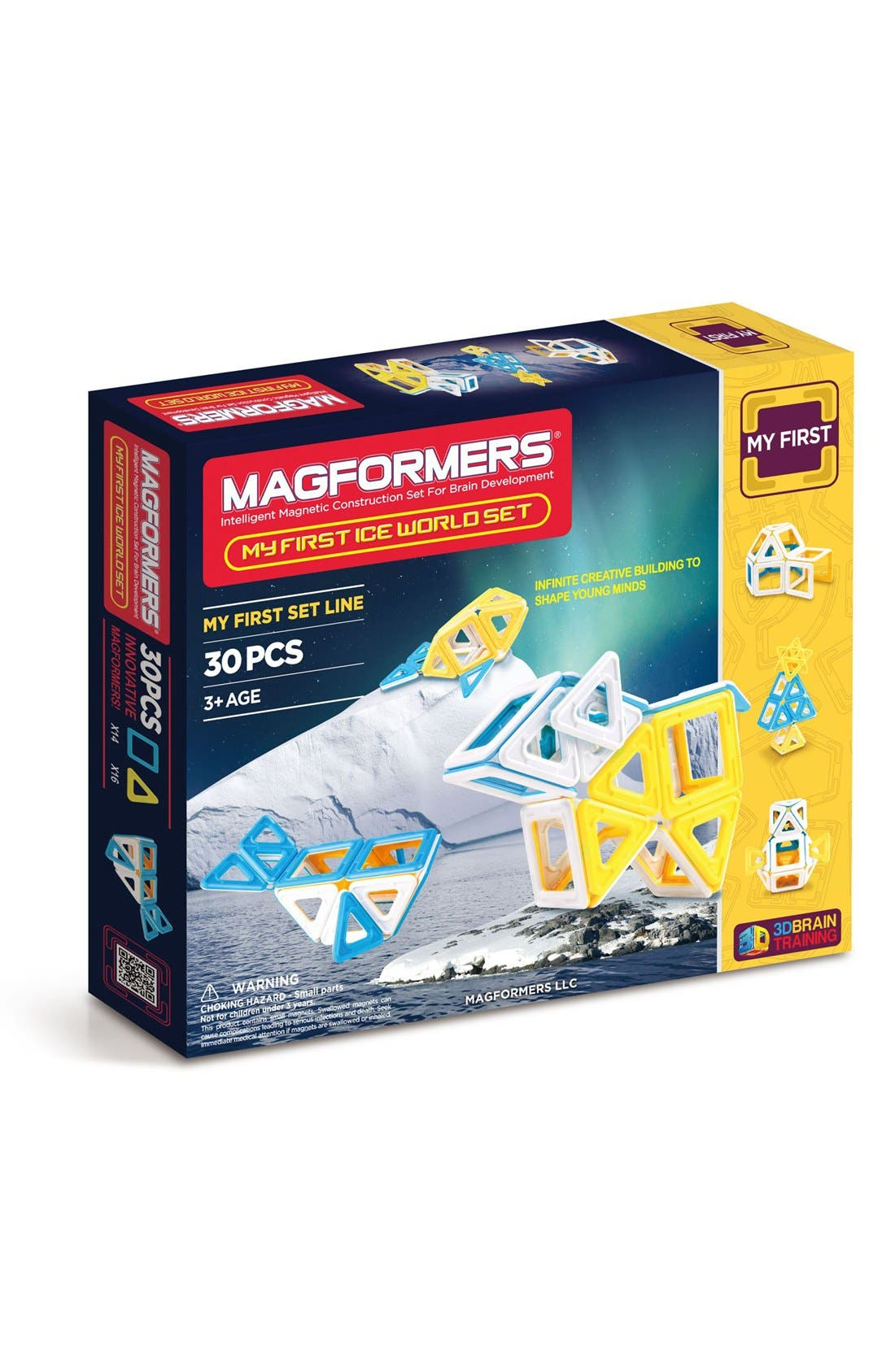 MAGFORMERS 'My First Ice World' Magnetic 3D Construction Set, Main, color, 402