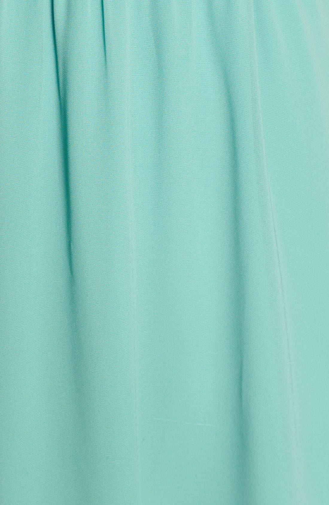 Blouson Chiffon Skater Dress,                             Alternate thumbnail 214, color,