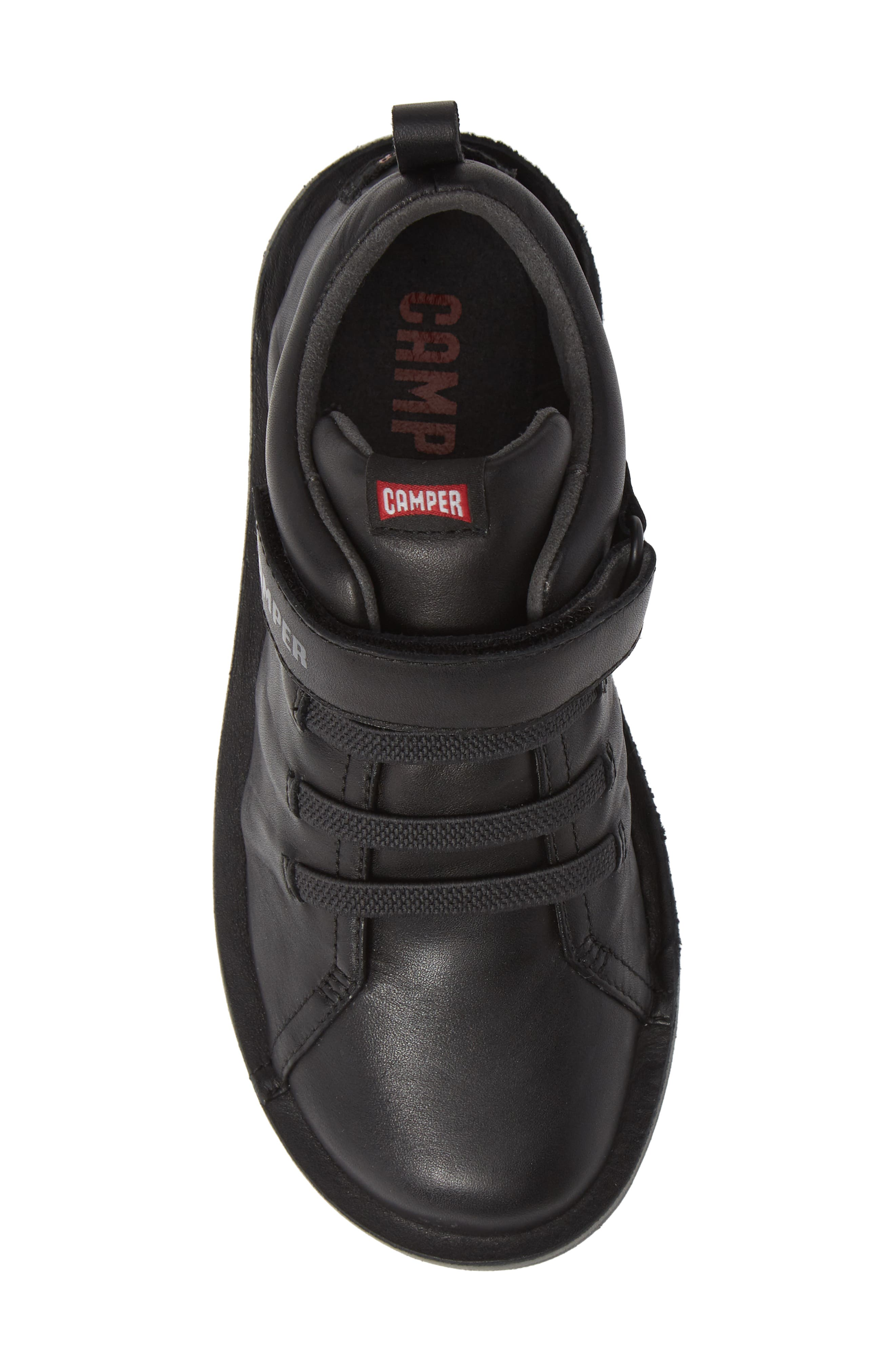 Beetle Water Resistant Sneaker,                             Alternate thumbnail 5, color,                             BLACK