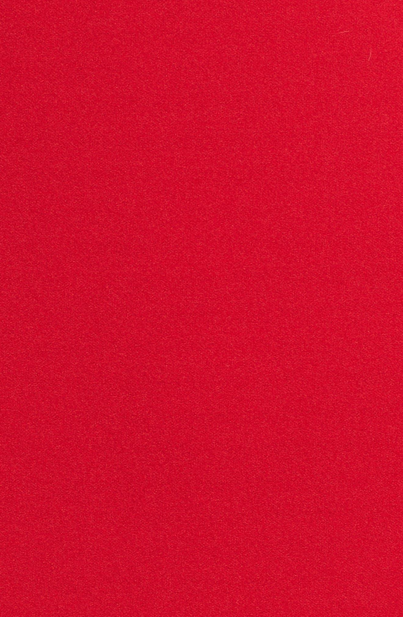 Cold Shoulder Bell Sleeve Dress,                             Alternate thumbnail 6, color,                             614