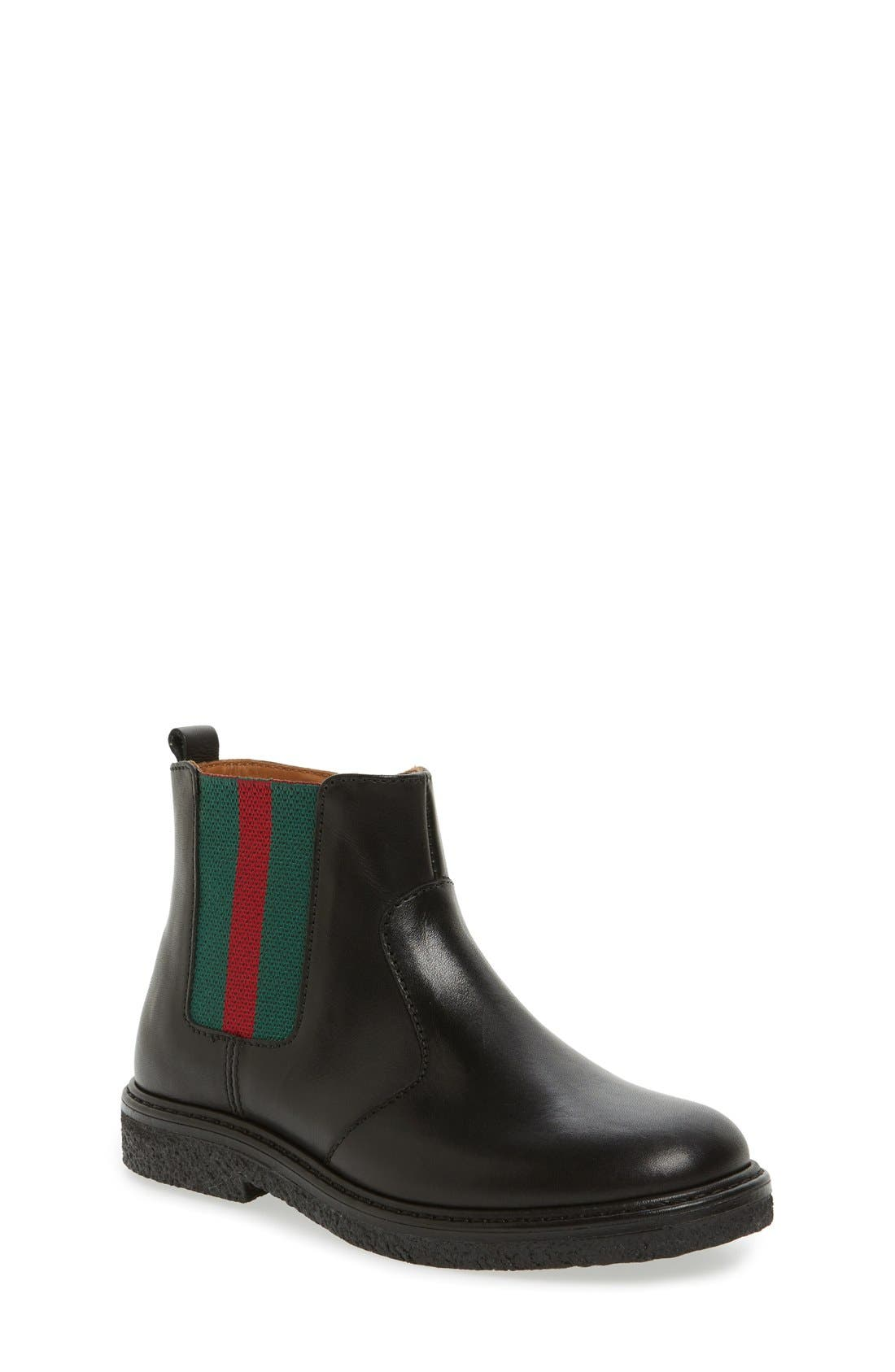 'Joshua' Chelsea Boot,                             Main thumbnail 1, color,                             001