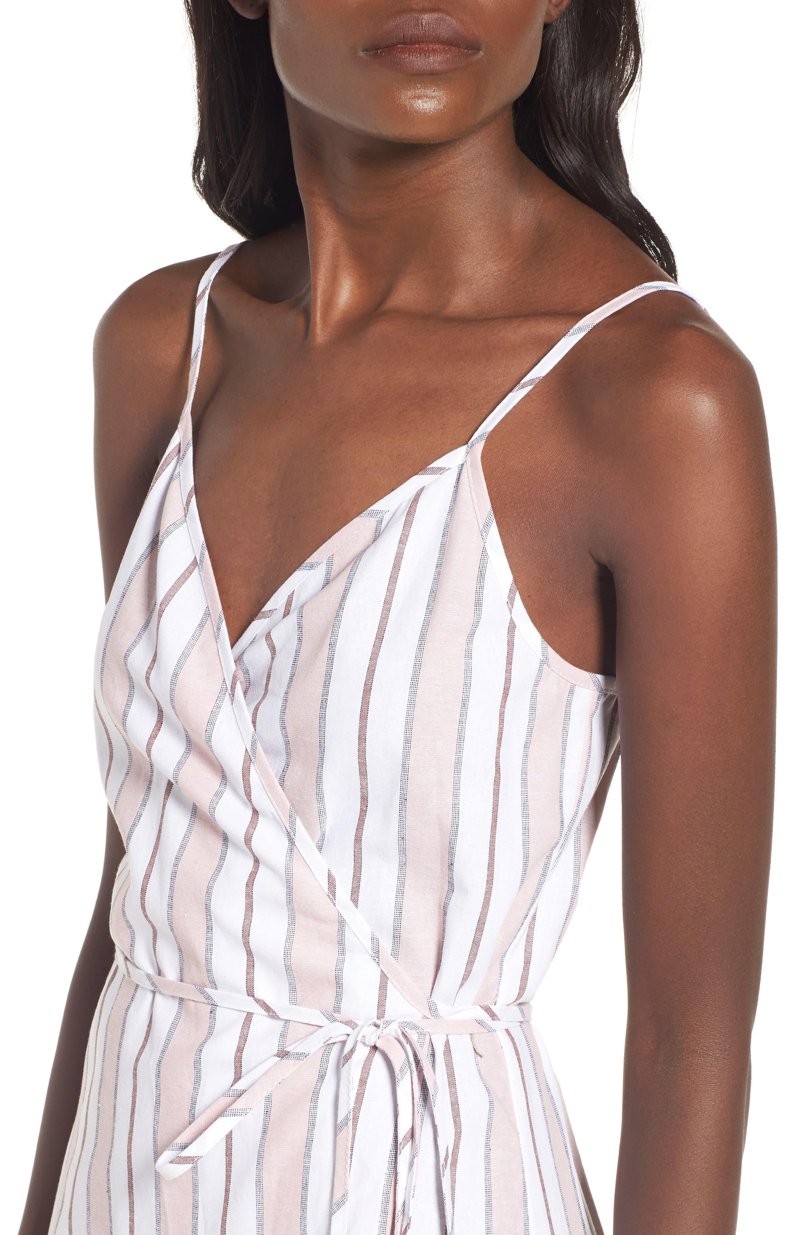 Wrap Midi Dress,                             Alternate thumbnail 15, color,