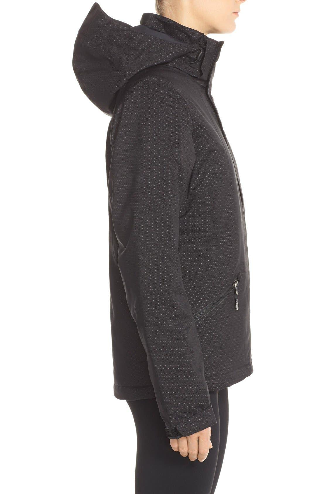 THE NORTH FACE,                             'Lulea' Waterpoof Heatseeker<sup>™</sup> Jacket,                             Alternate thumbnail 5, color,                             001