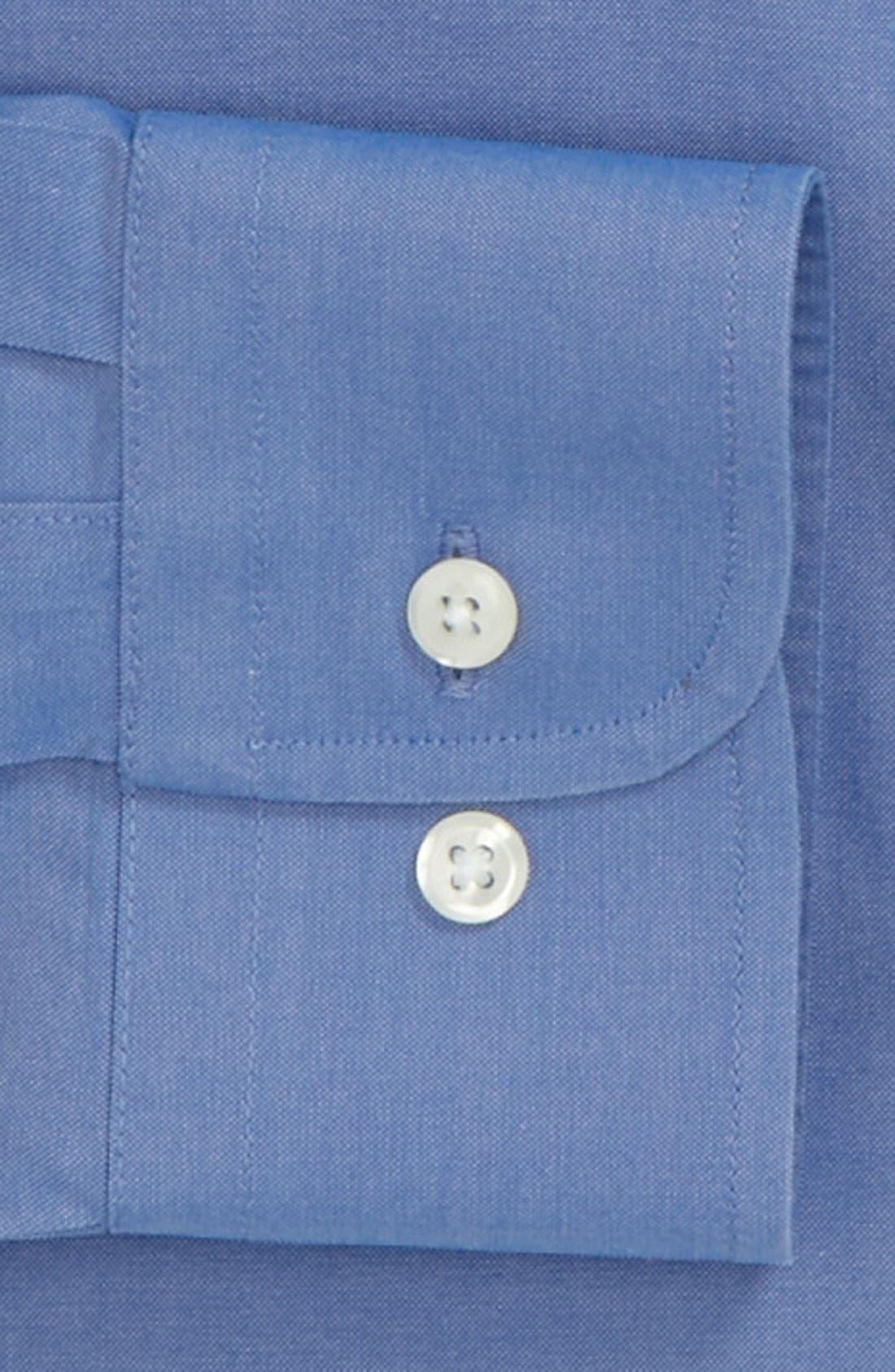 Smartcare<sup>™</sup> Trim Fit Solid Dress Shirt,                             Alternate thumbnail 30, color,